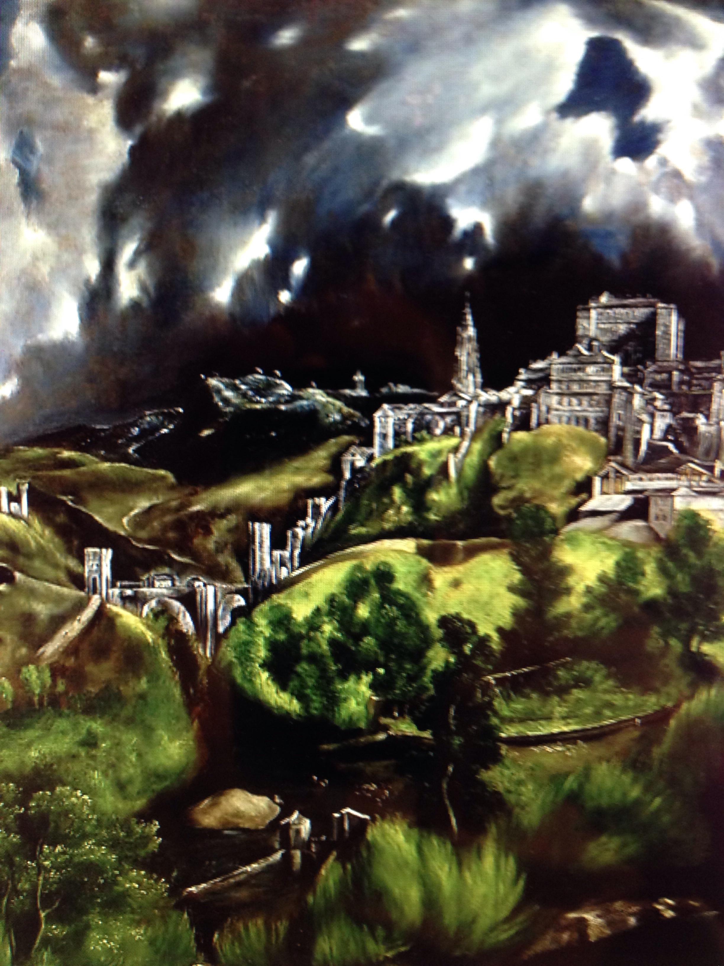El Greco – View of Toledo
