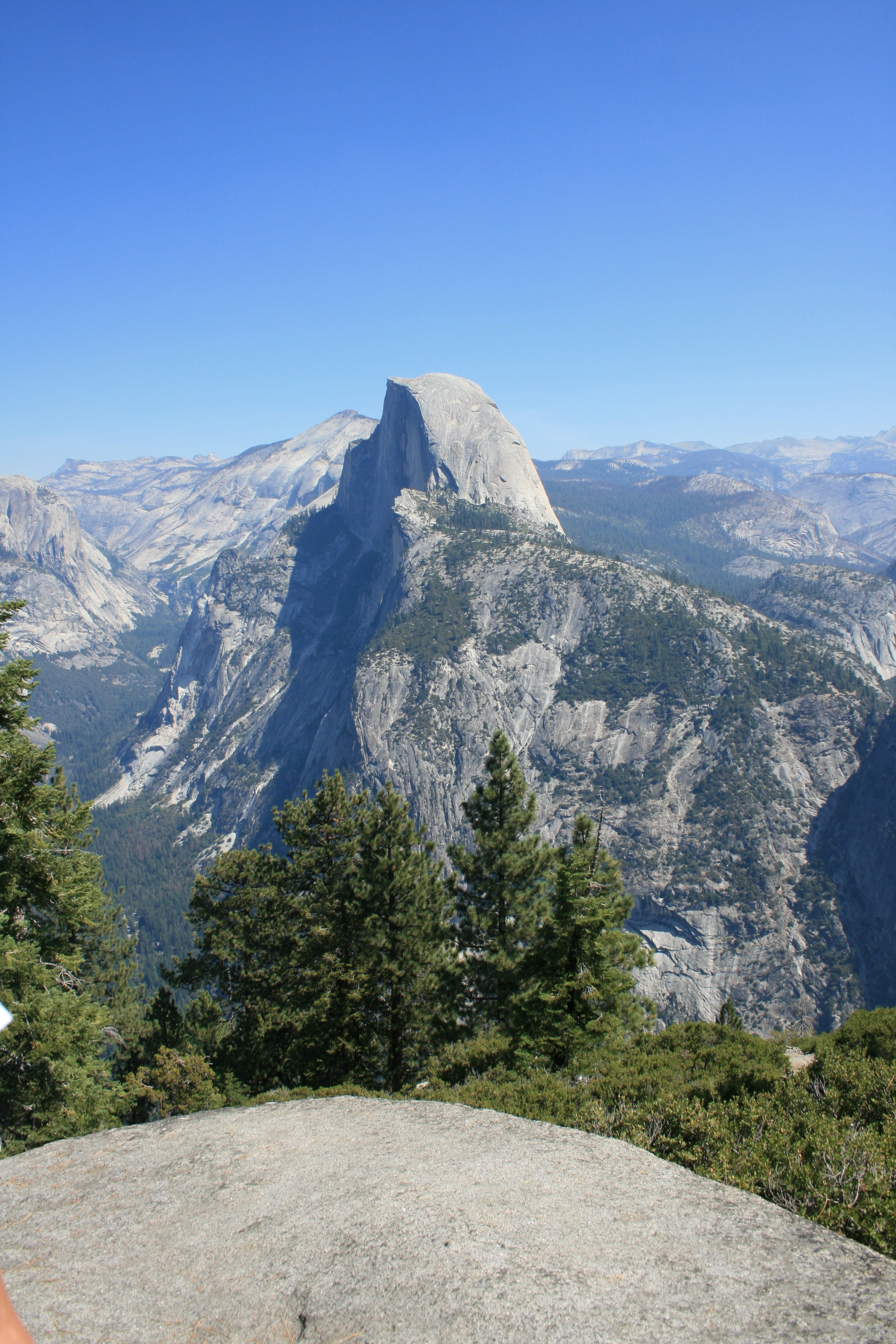 Half-Dome -- as seen from Glacier Point