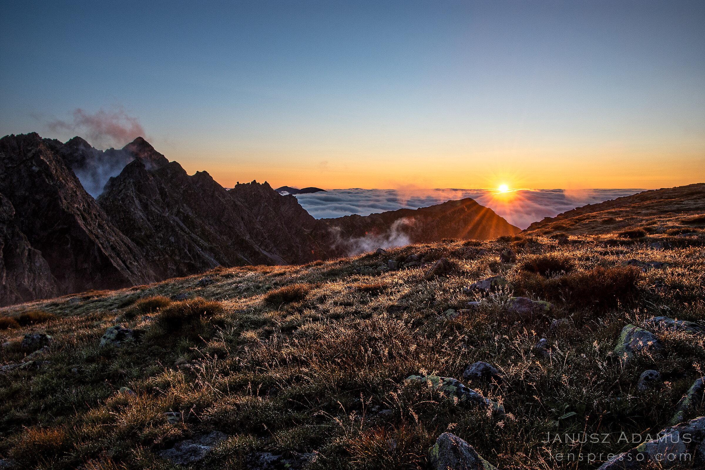 Sunset at Krzyzne