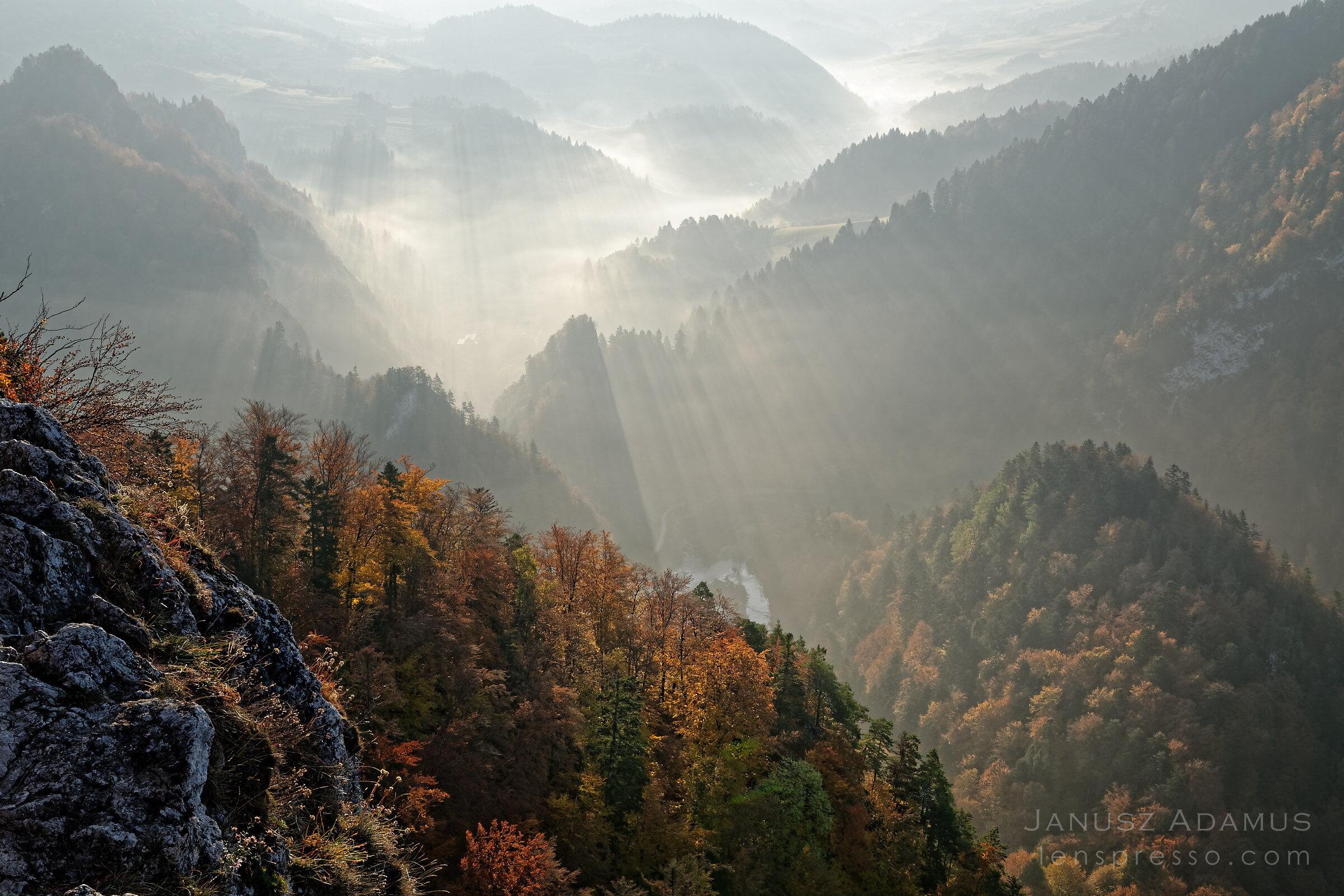Dunajec valley from Sokolica