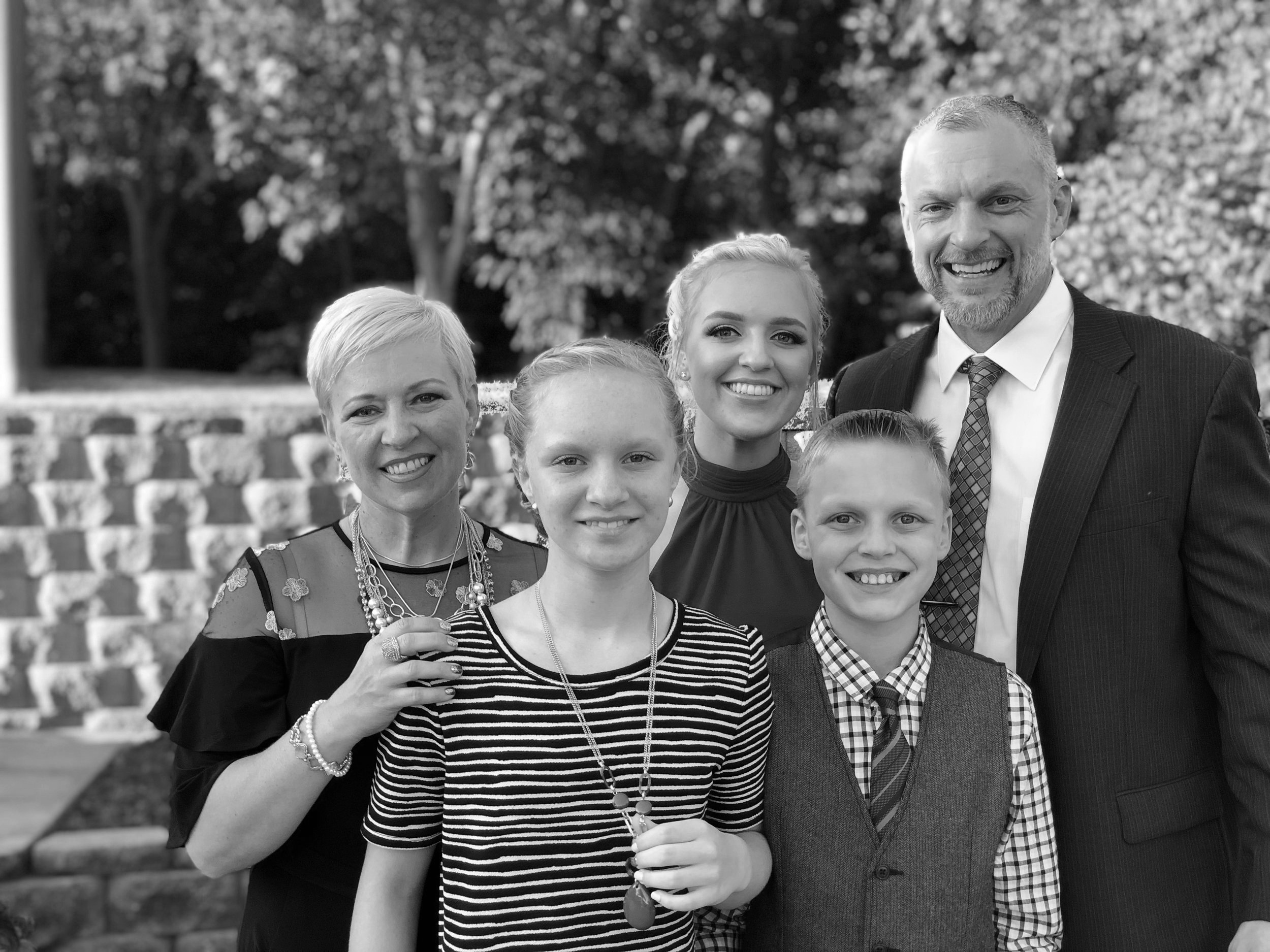 Family Man - Married to wife, Glyn Ann for 27 years.Father of 3 beautiful children.
