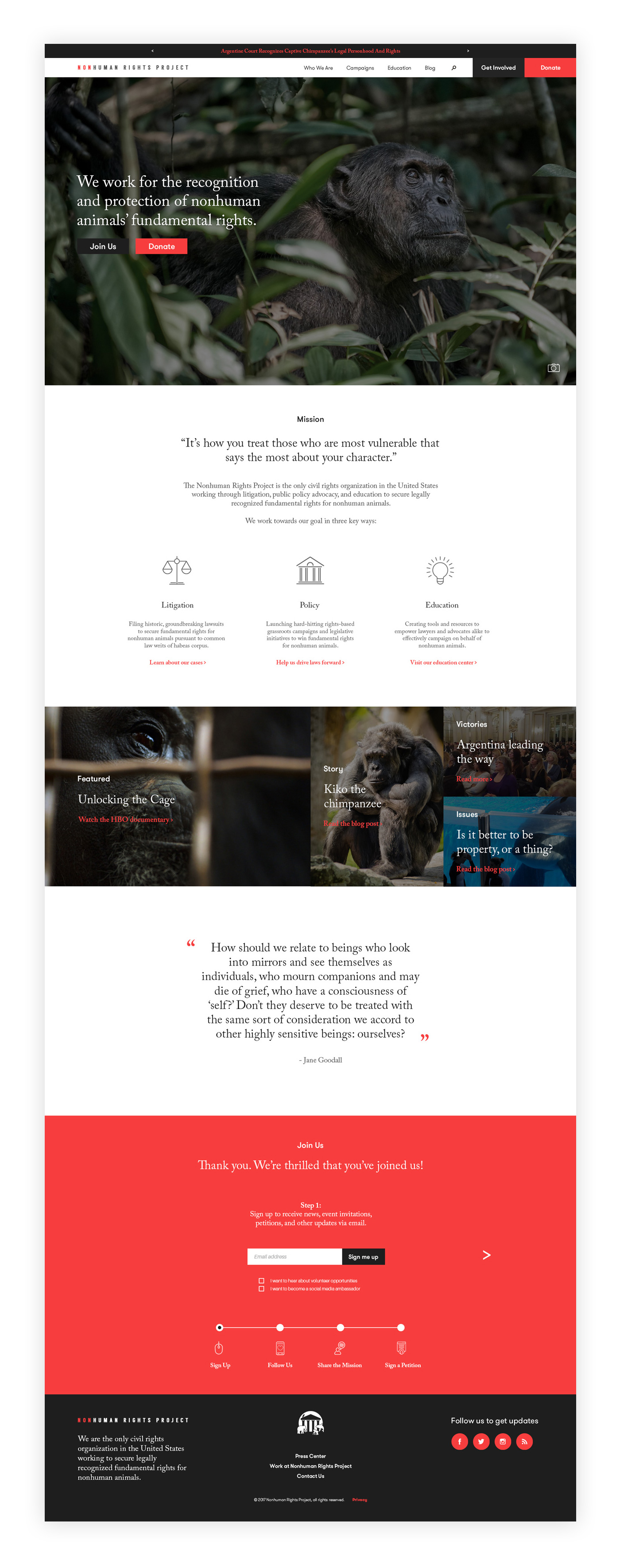 nonprofit-homepage-design-nonhuman-rights
