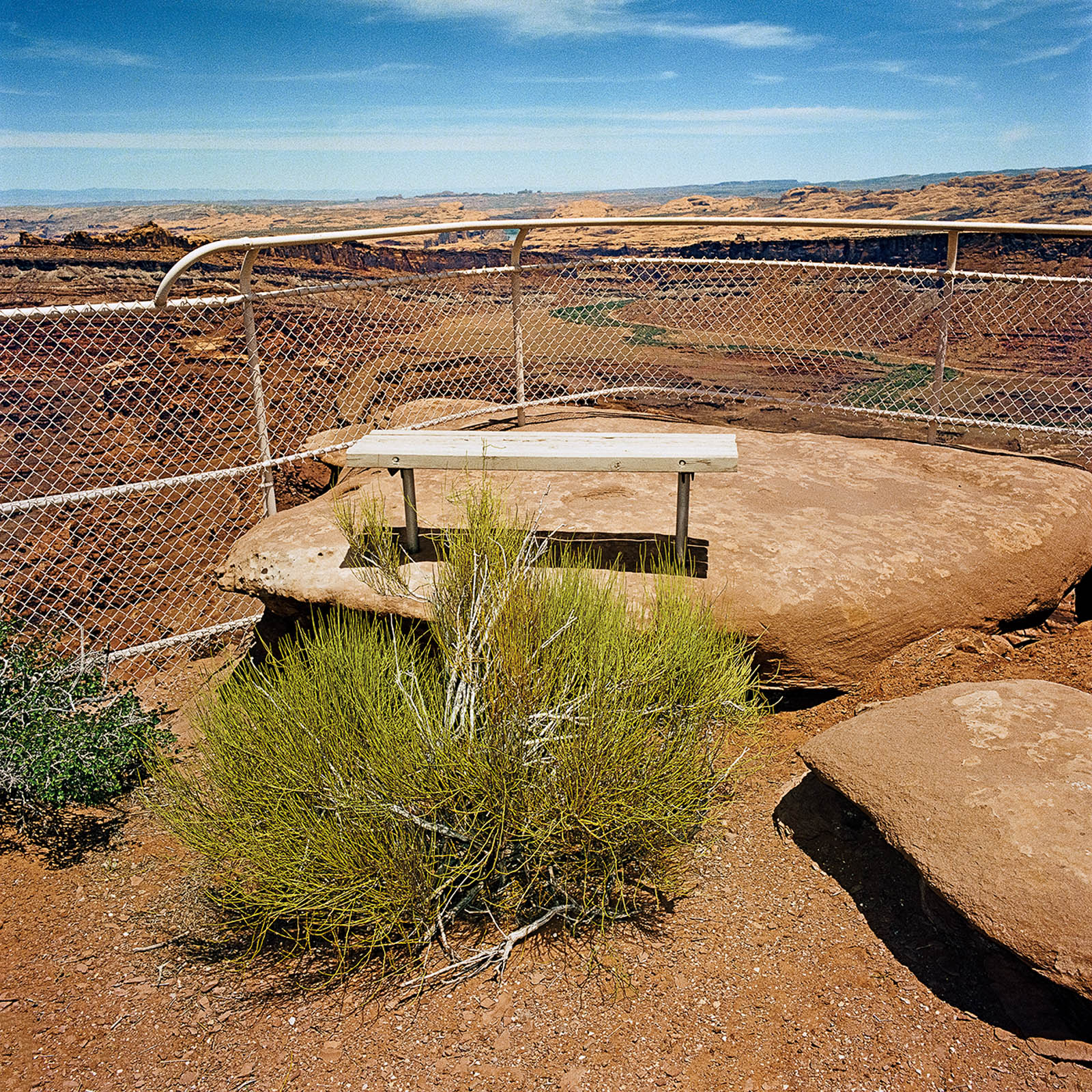 Overlook at Canyonlands National Park, Utah 1980