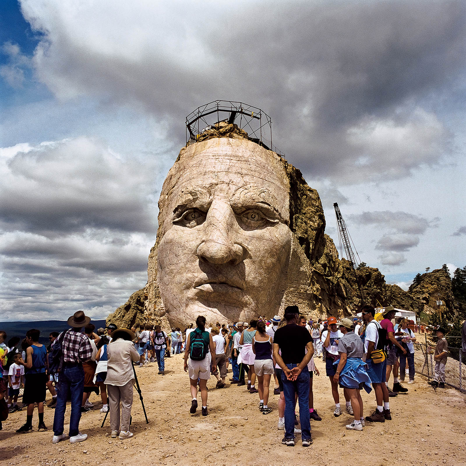 Visitors Day, Crazy Horse Monument, South Dakota 1999