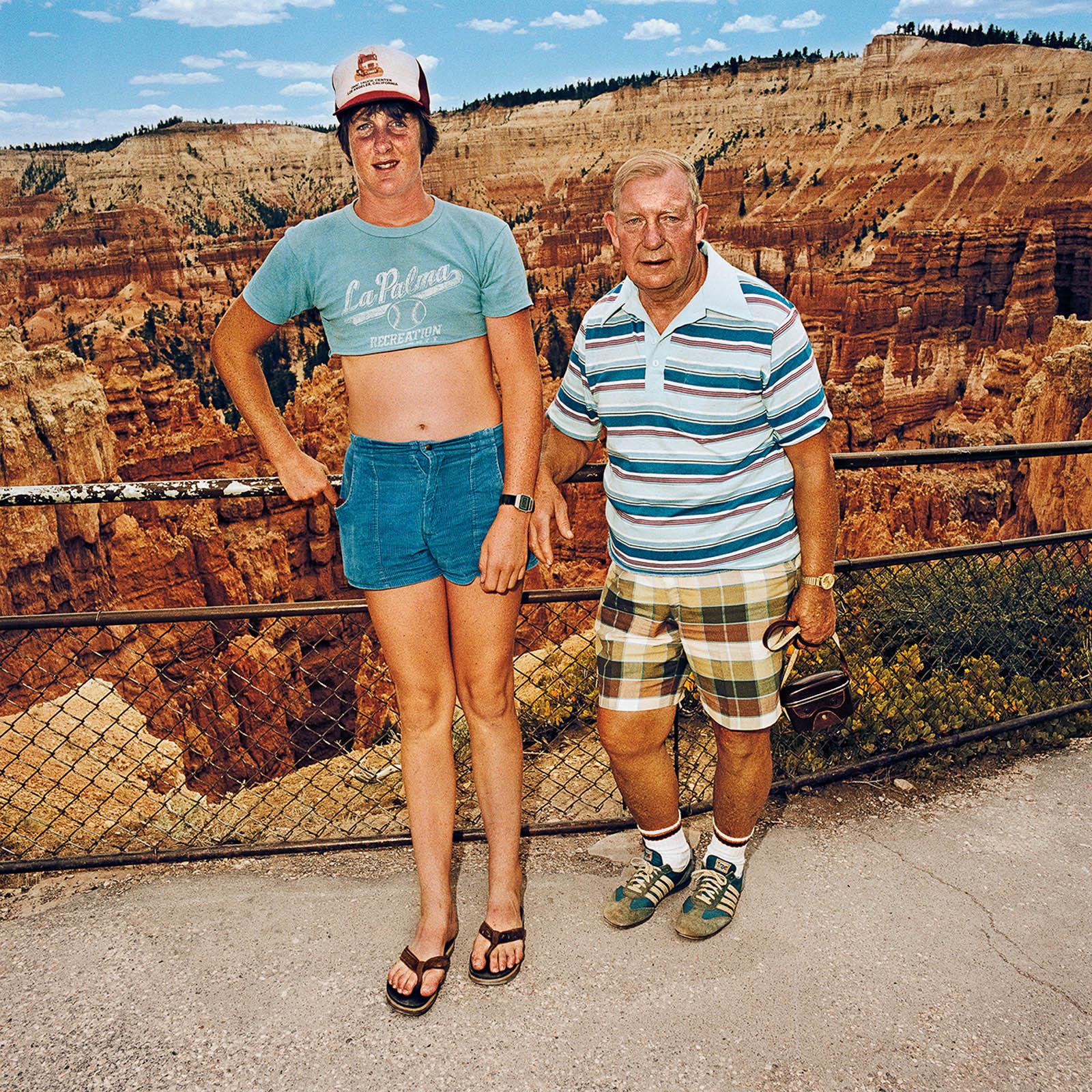 Uncle & Nephew at Bryce Canyon National Park, Utah 1981