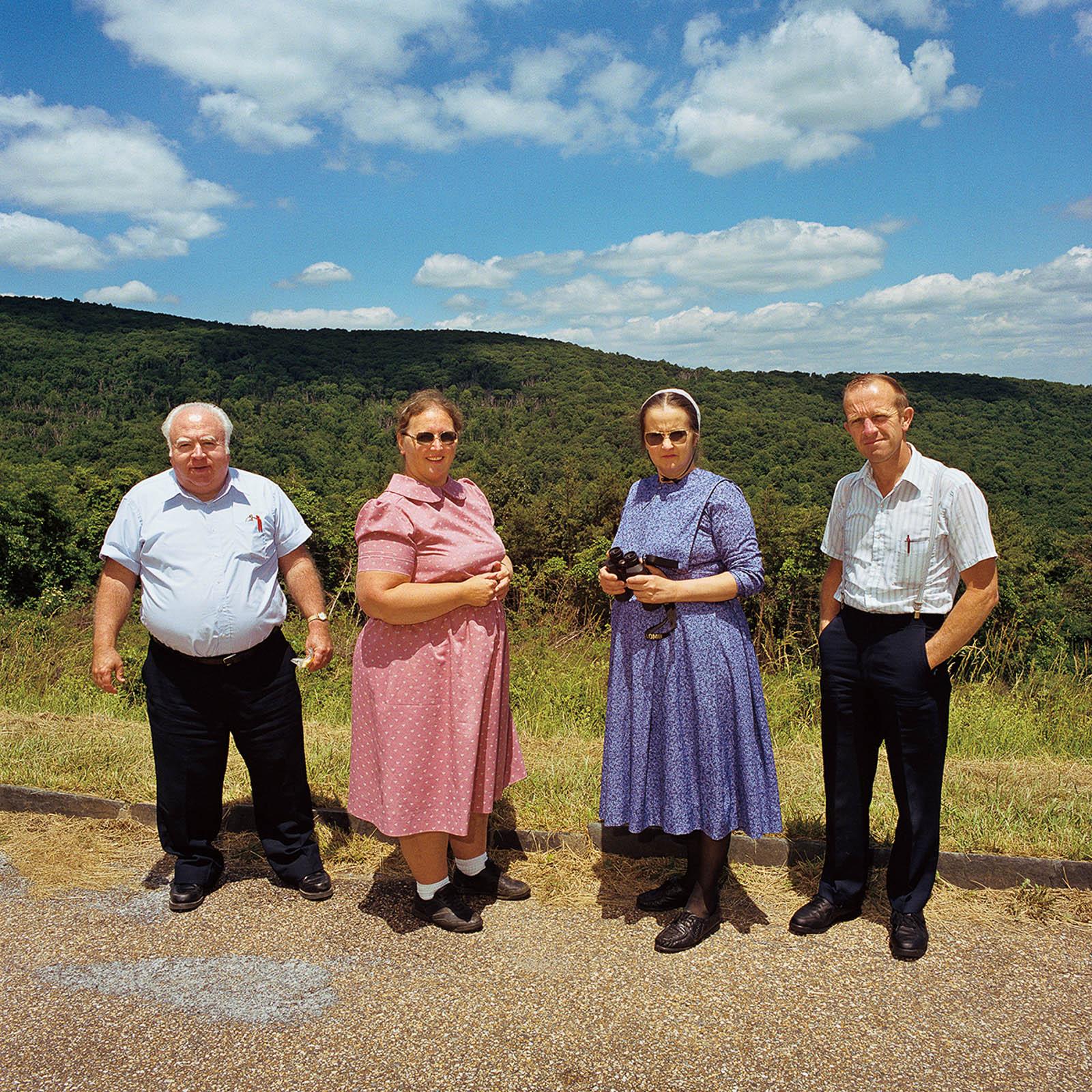 Hutterite Couples at Shenandoah National Park, Virginia 1999