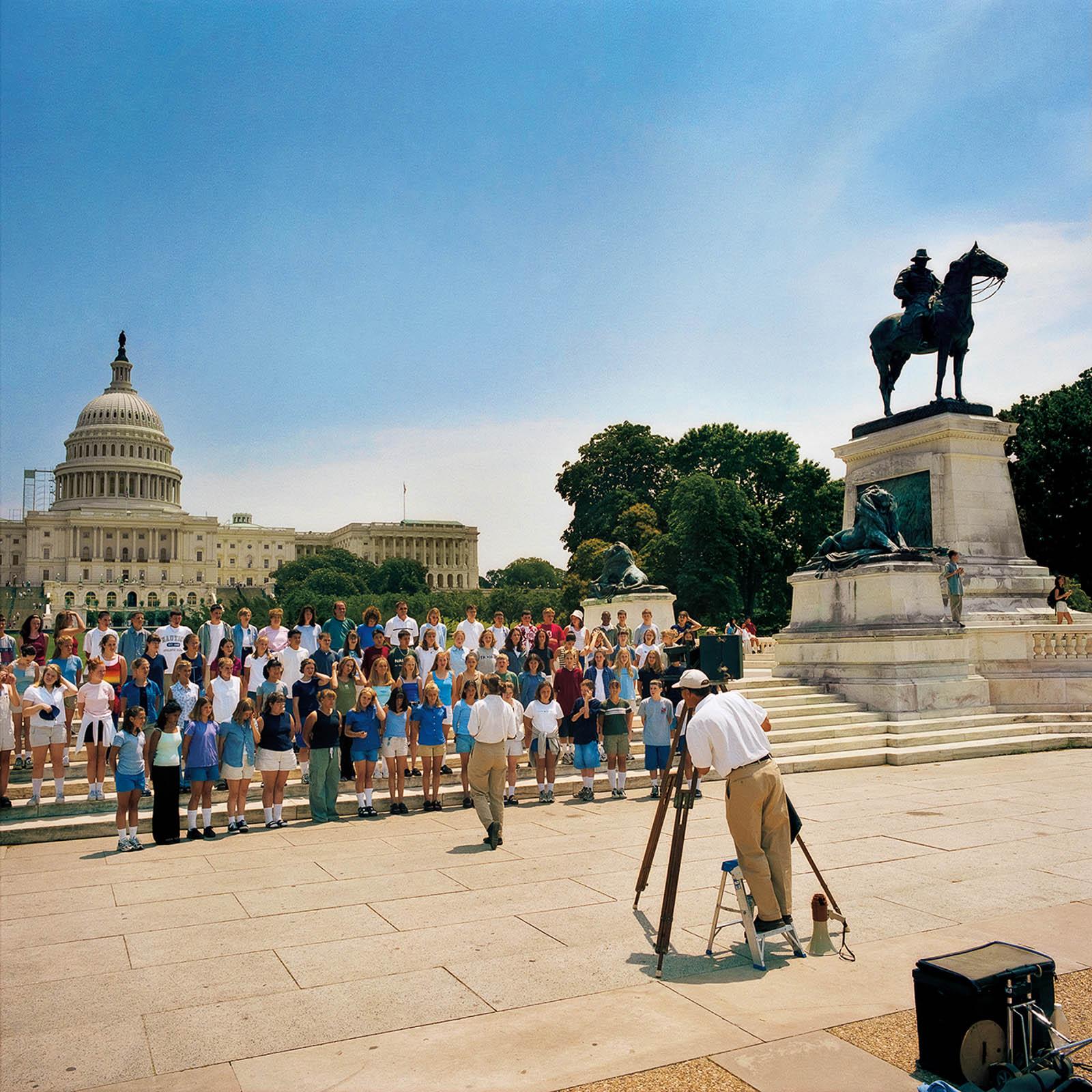 Group Photograph at United States Capitol, Washington, DC 2000