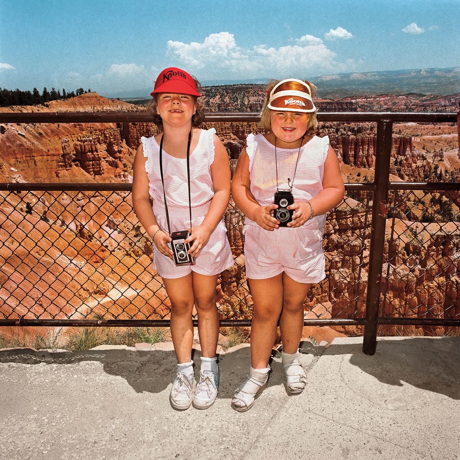 Young Girls at Bryce Canyon National Park, Utah 1980