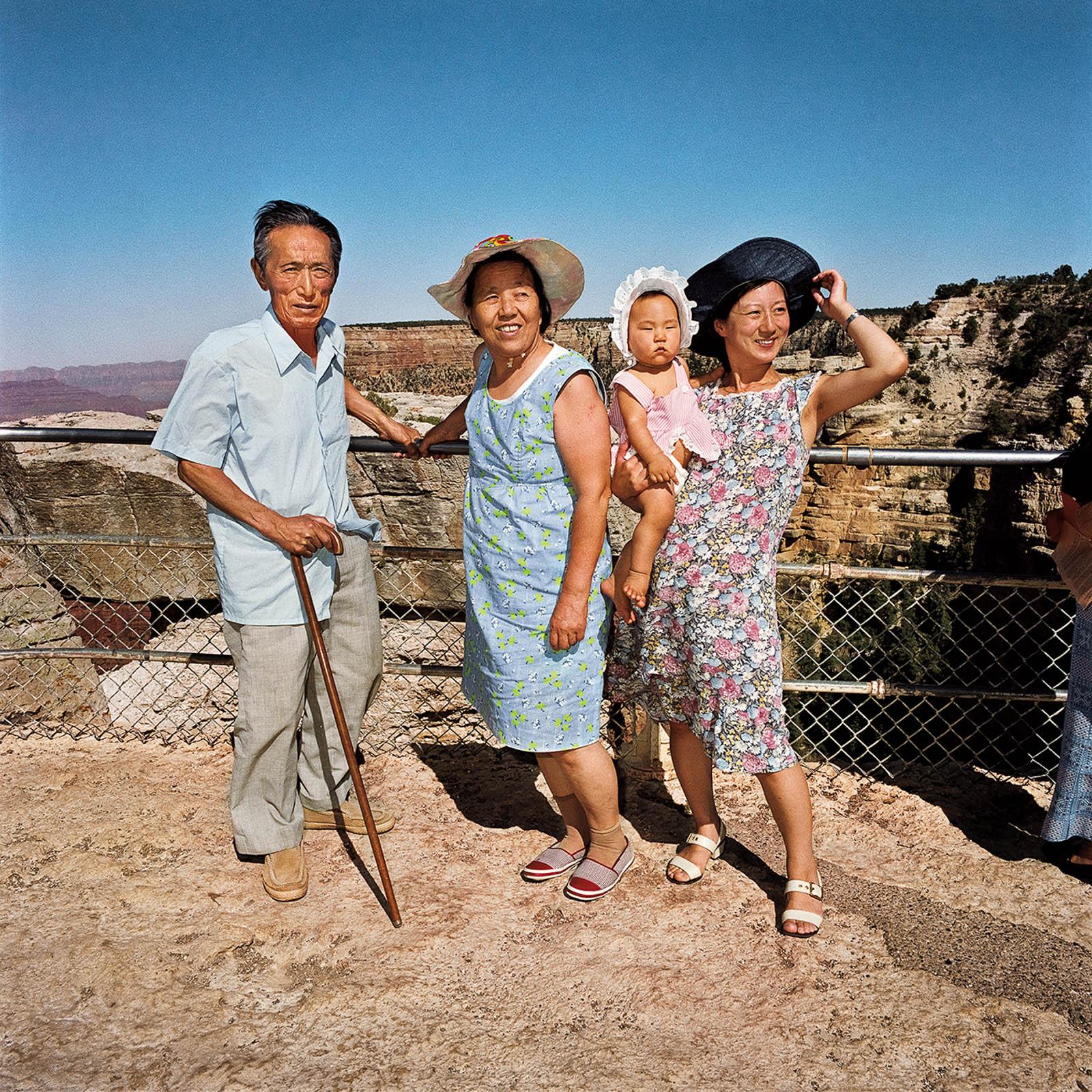 Family at Grand Canyon National Park, Arizona 1980