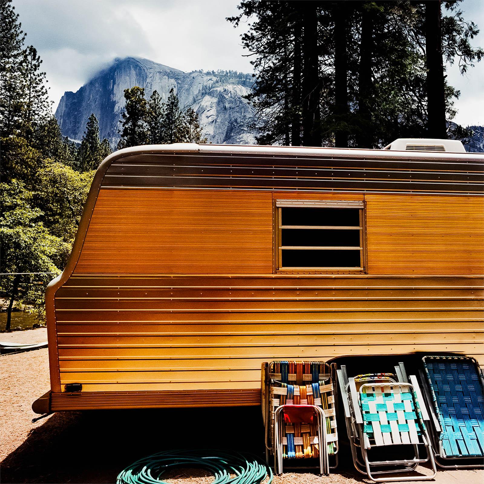 Motorhome at Yosemite National Park, California 1980