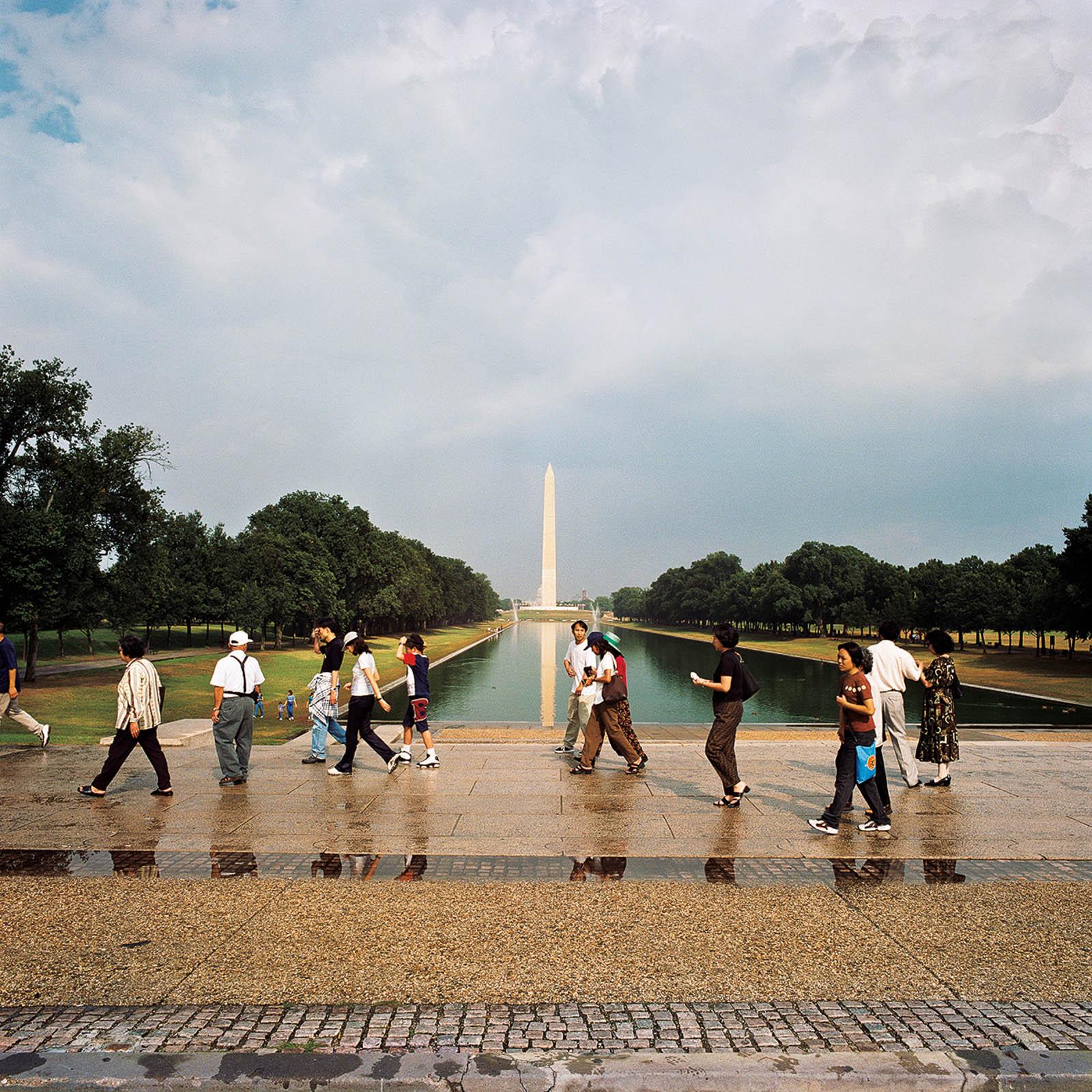 Reflecting Pool on The Mall, Washington, DC 1998