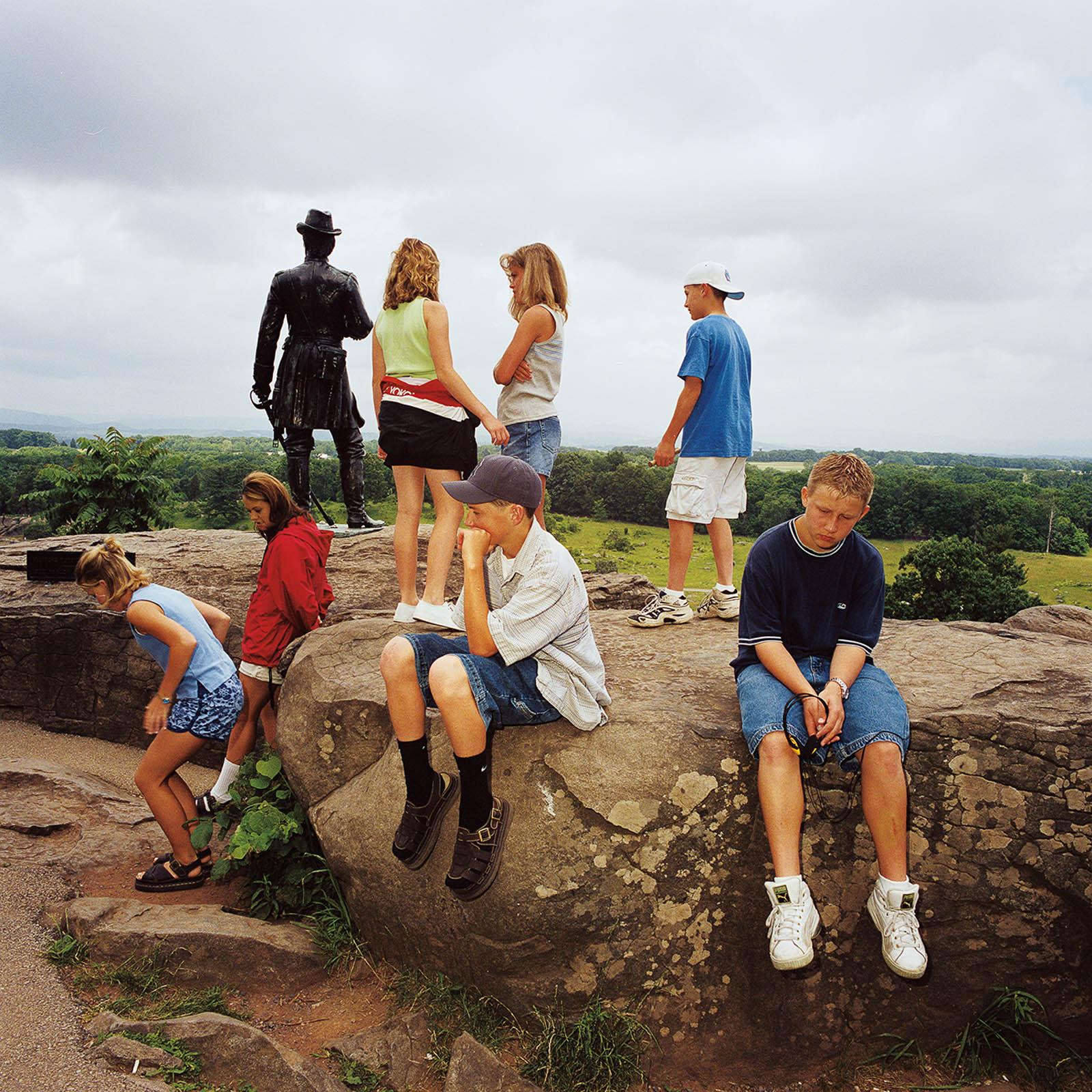 Class Field Trip at Gettysburg National Military Park, Pennsylvania 1999