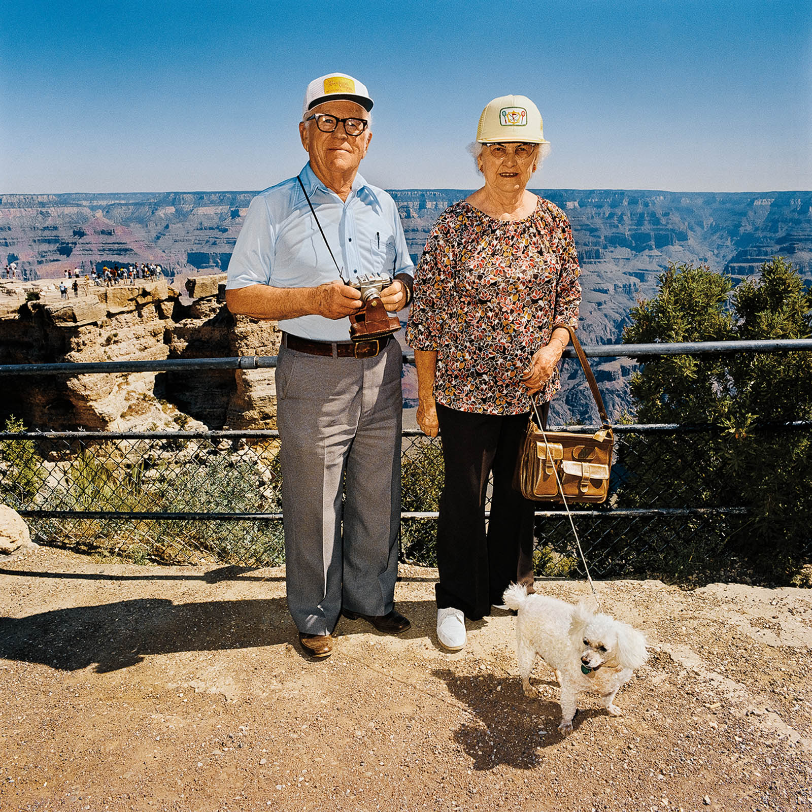 Couple with Poodle, Grand Canyon National Park, Arizona 1980
