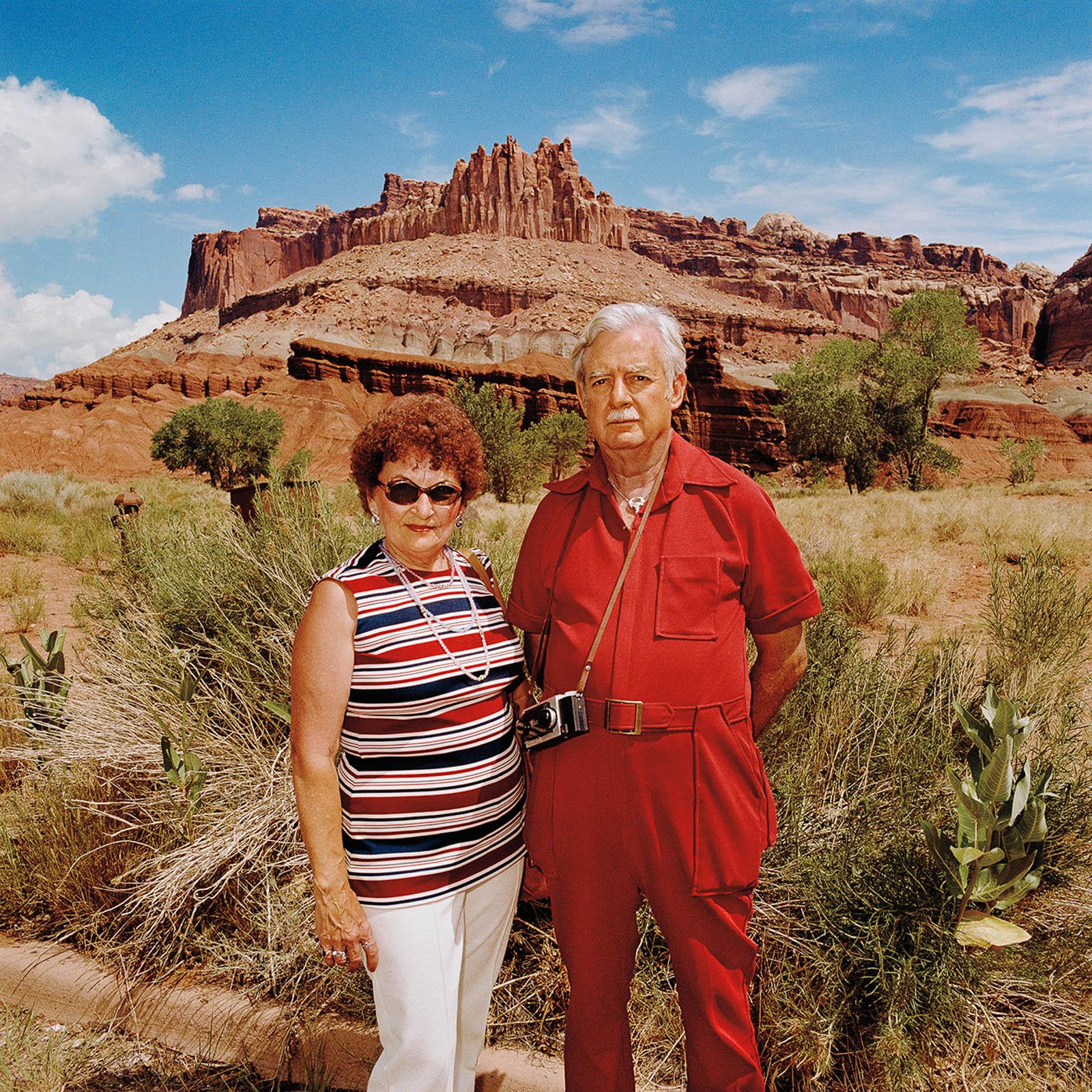 Couple at Capitol Reef National Park, Utah 1980