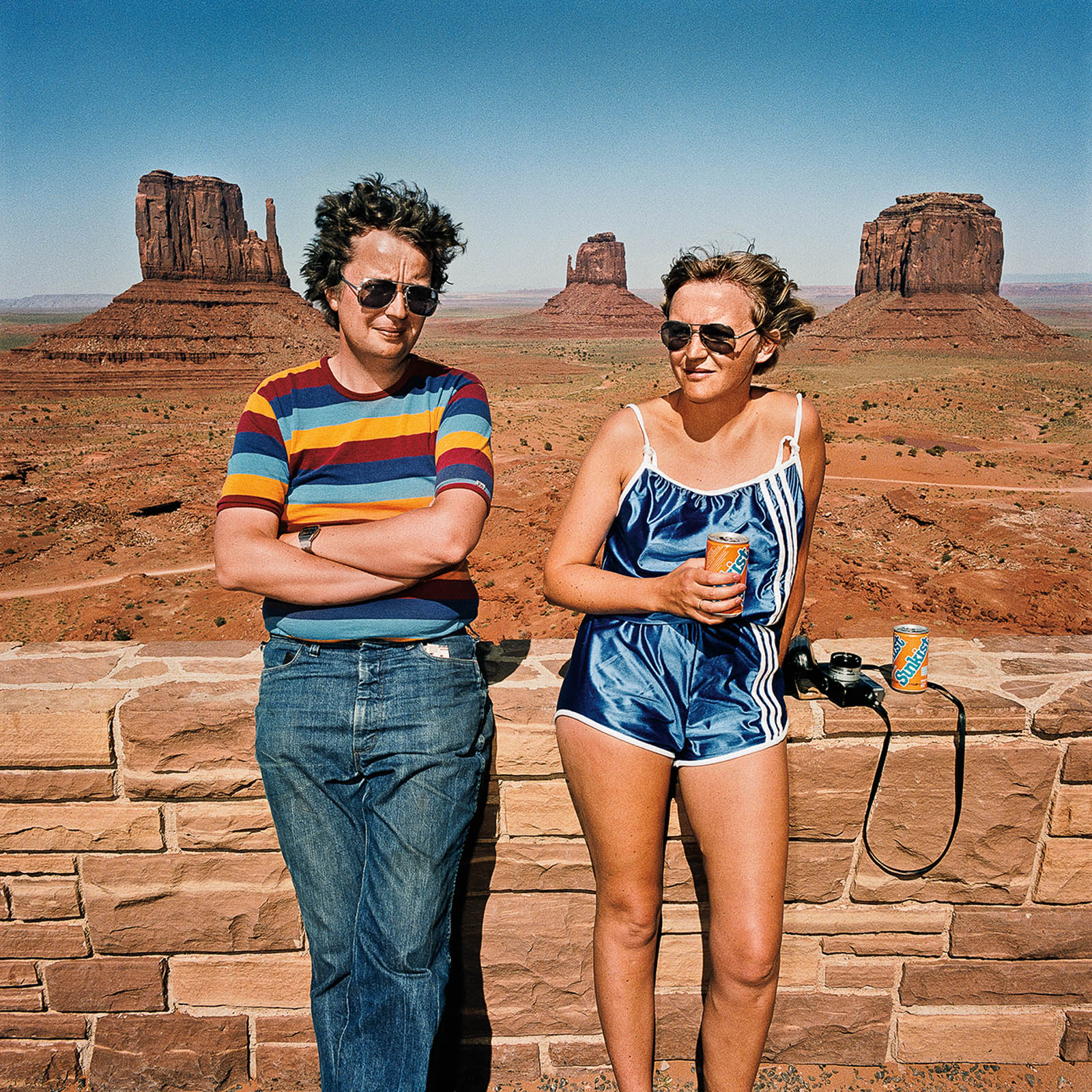 Couple at Monument Valley, Utah 1980
