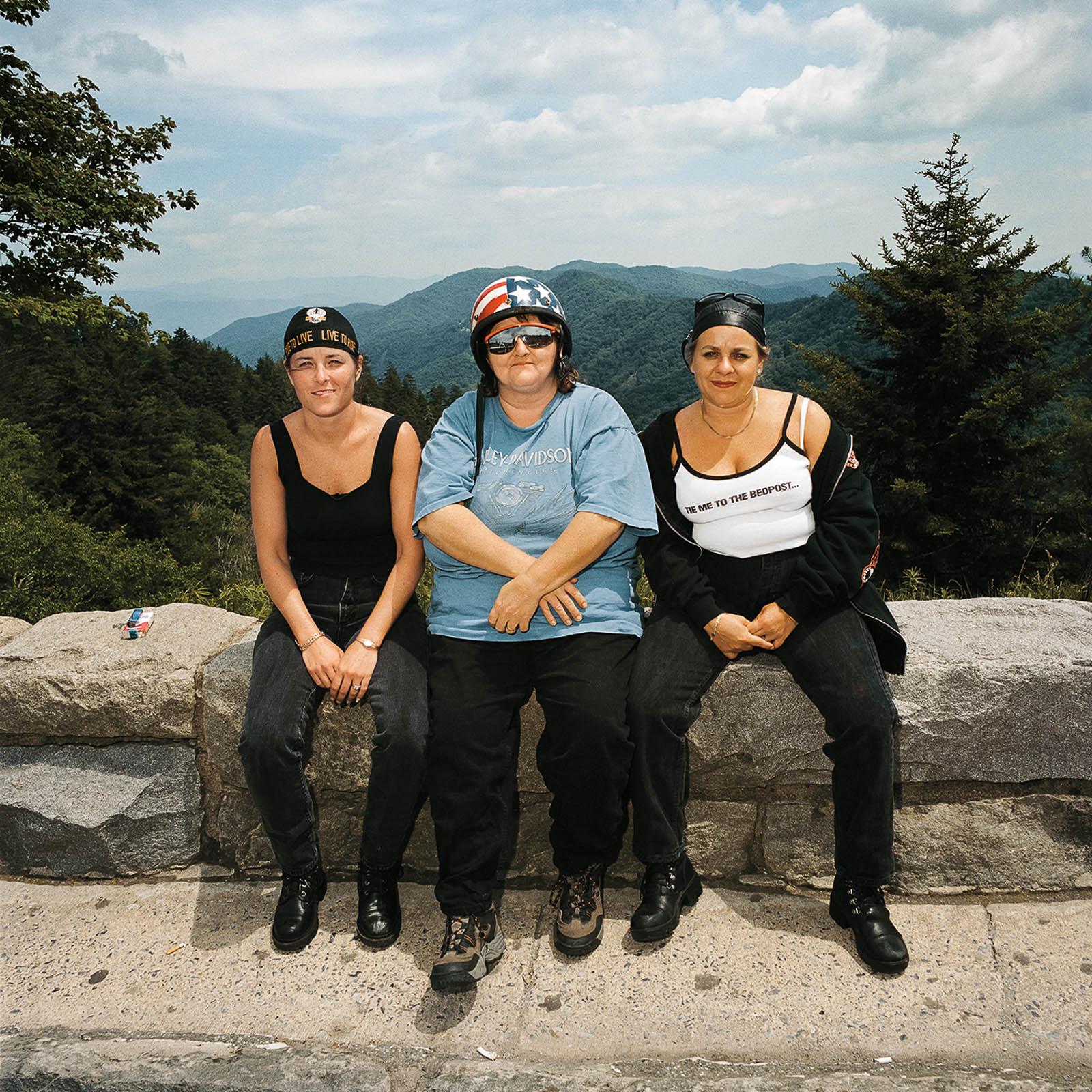Three Women at Great Smoky Mountains, North Carolina 1999
