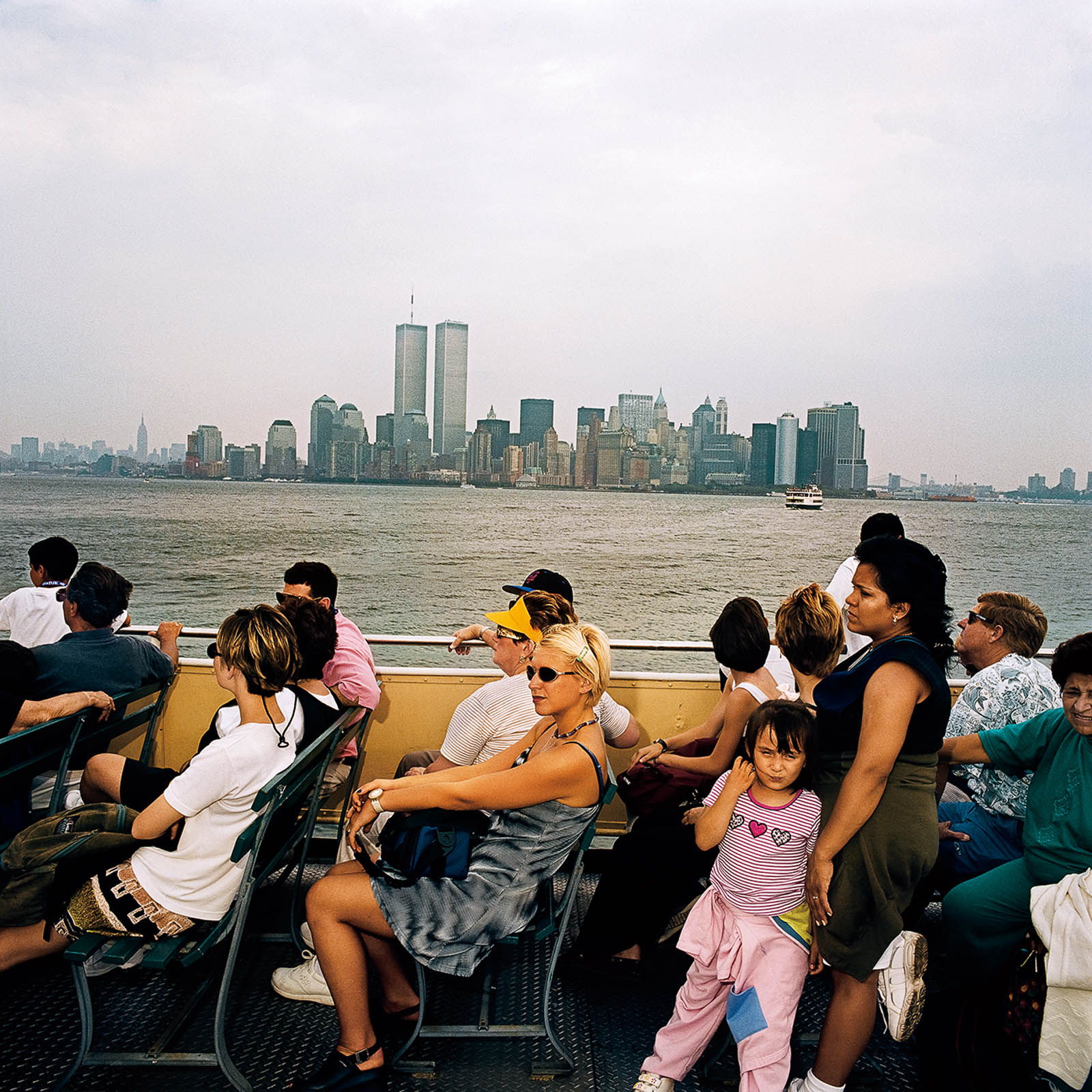 Ferry to Statue of Liberty Island, New York 2000
