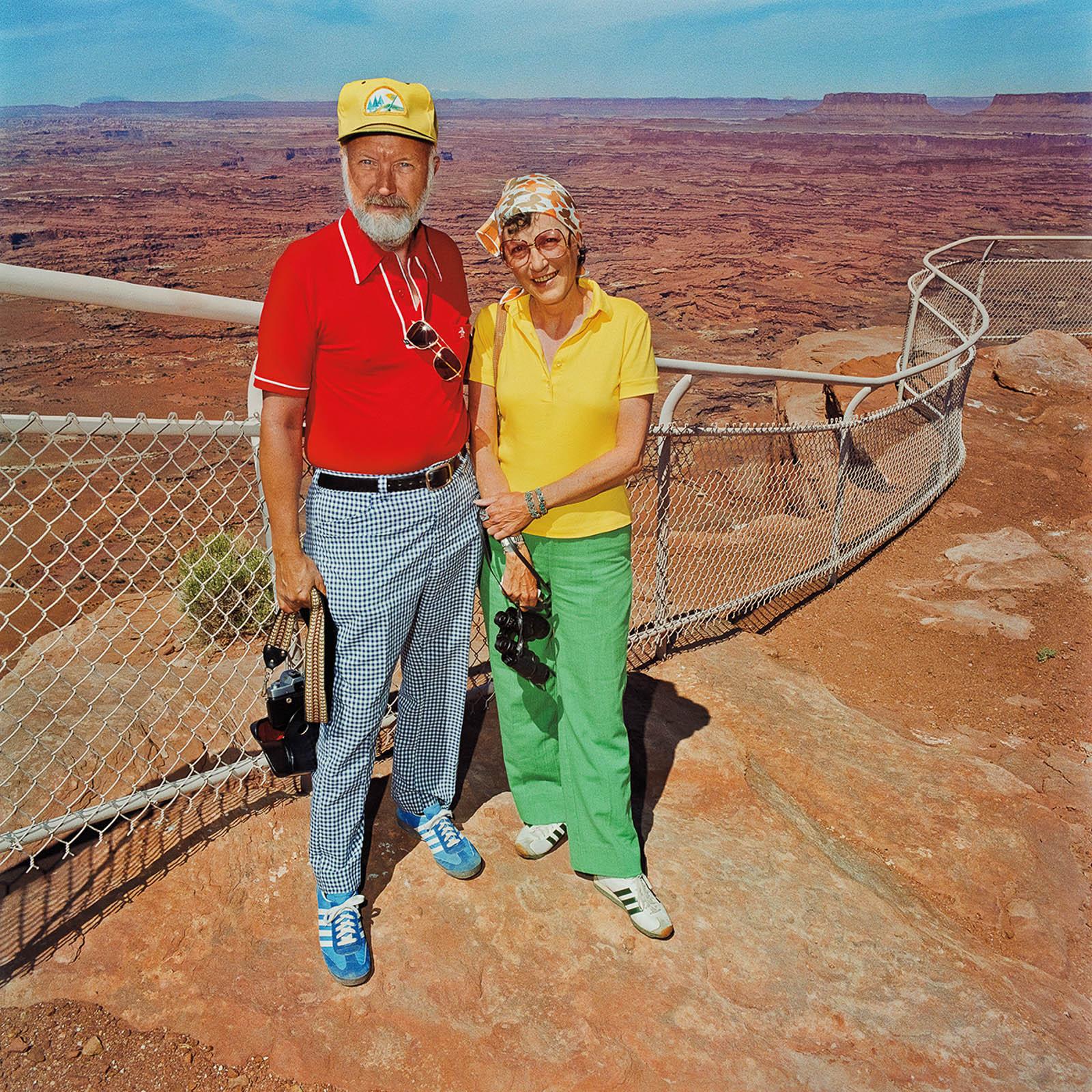 Couple at Canyonlands National Park, Utah 1980