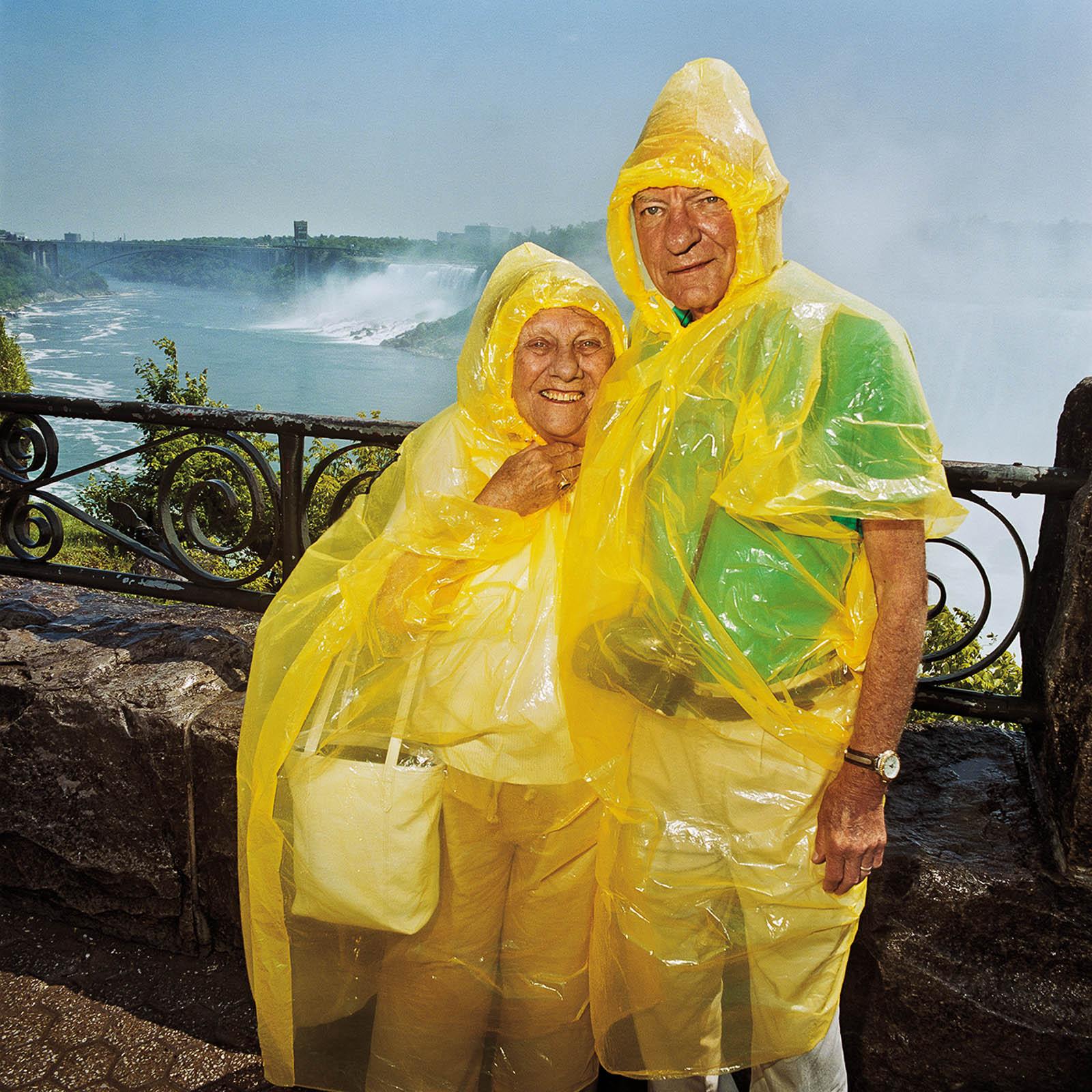 Couple at Niagara Falls State Park, New York & Canada 1998