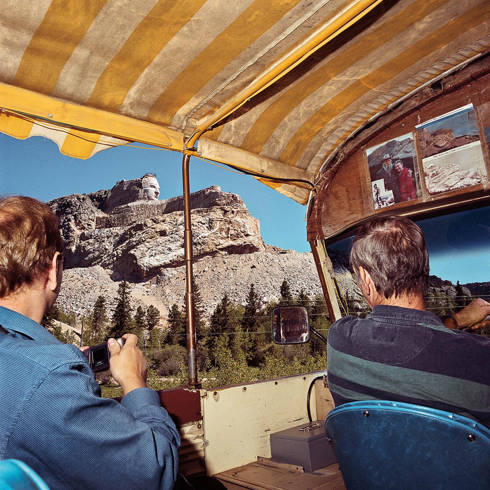 Tour Ride to Crazy Horse Monument, South Dakota 1999