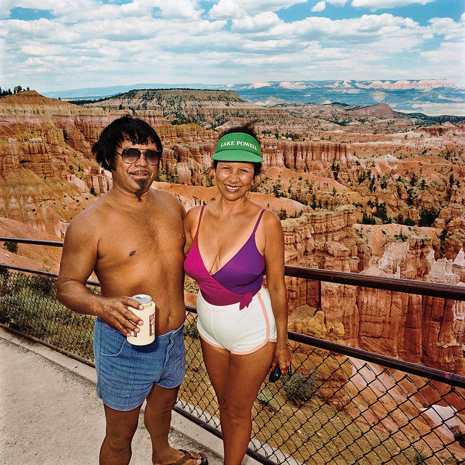 Couple at Bryce Canyon National Park, Utah 1980