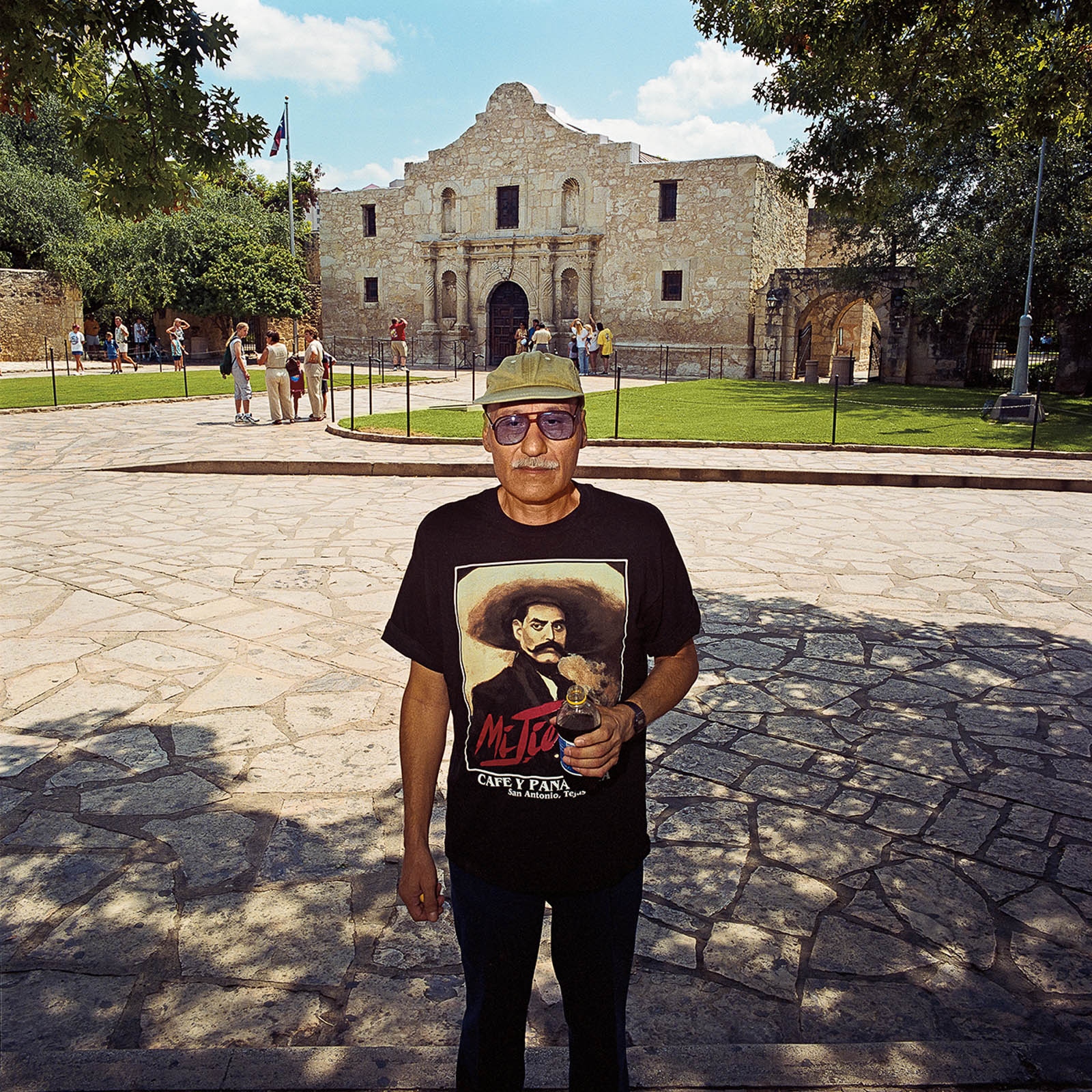 Man at The Alamo, San Antonio, Texas 1999
