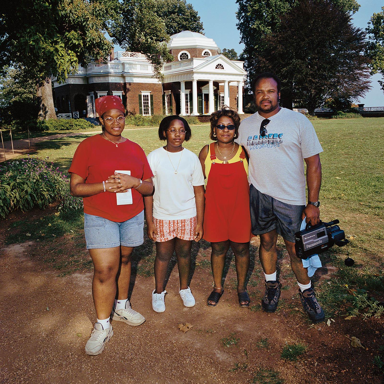 Family at Monticello, Virginia 2000