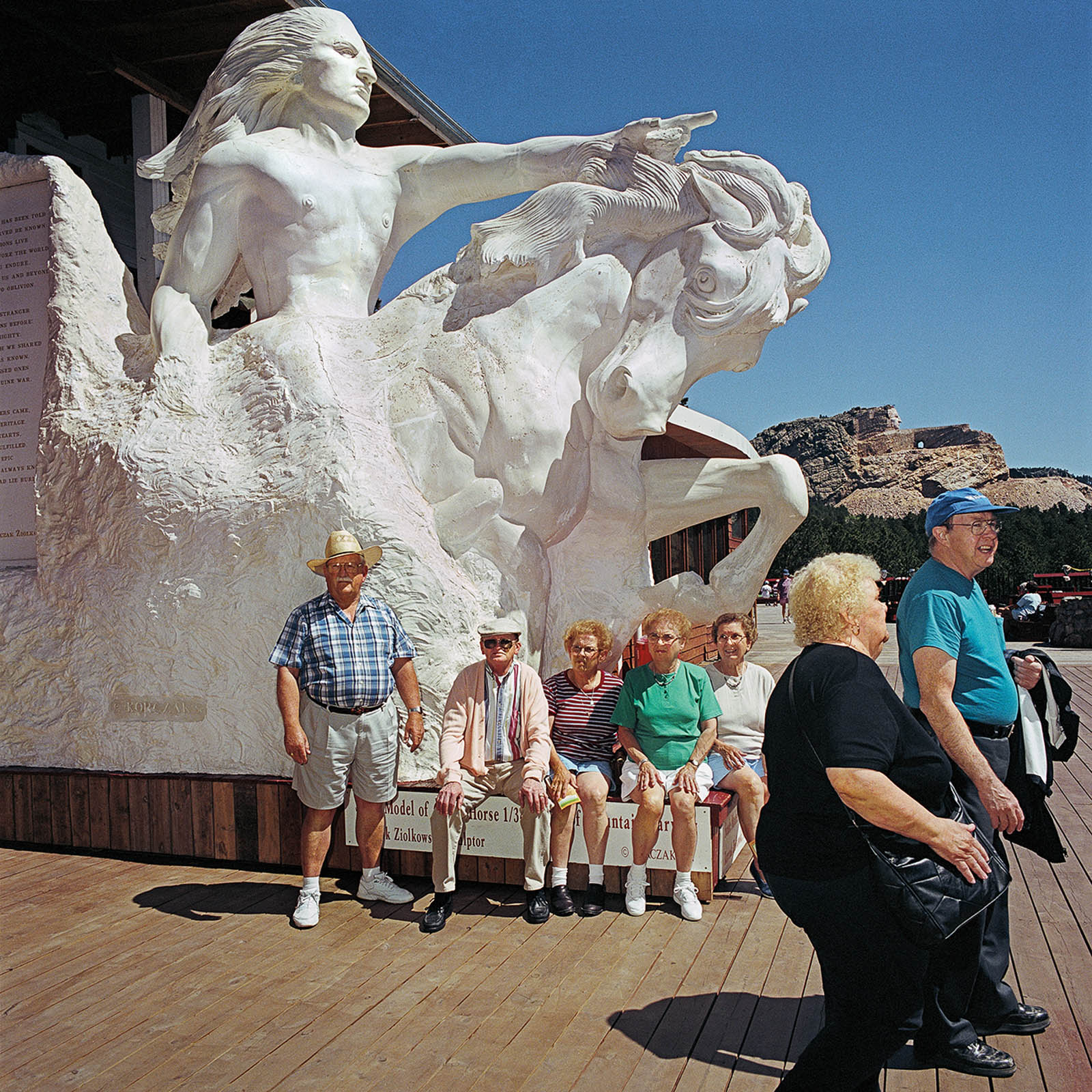Visitors at Gift Shop, Crazy Horse National Monument, South Dakota 1999