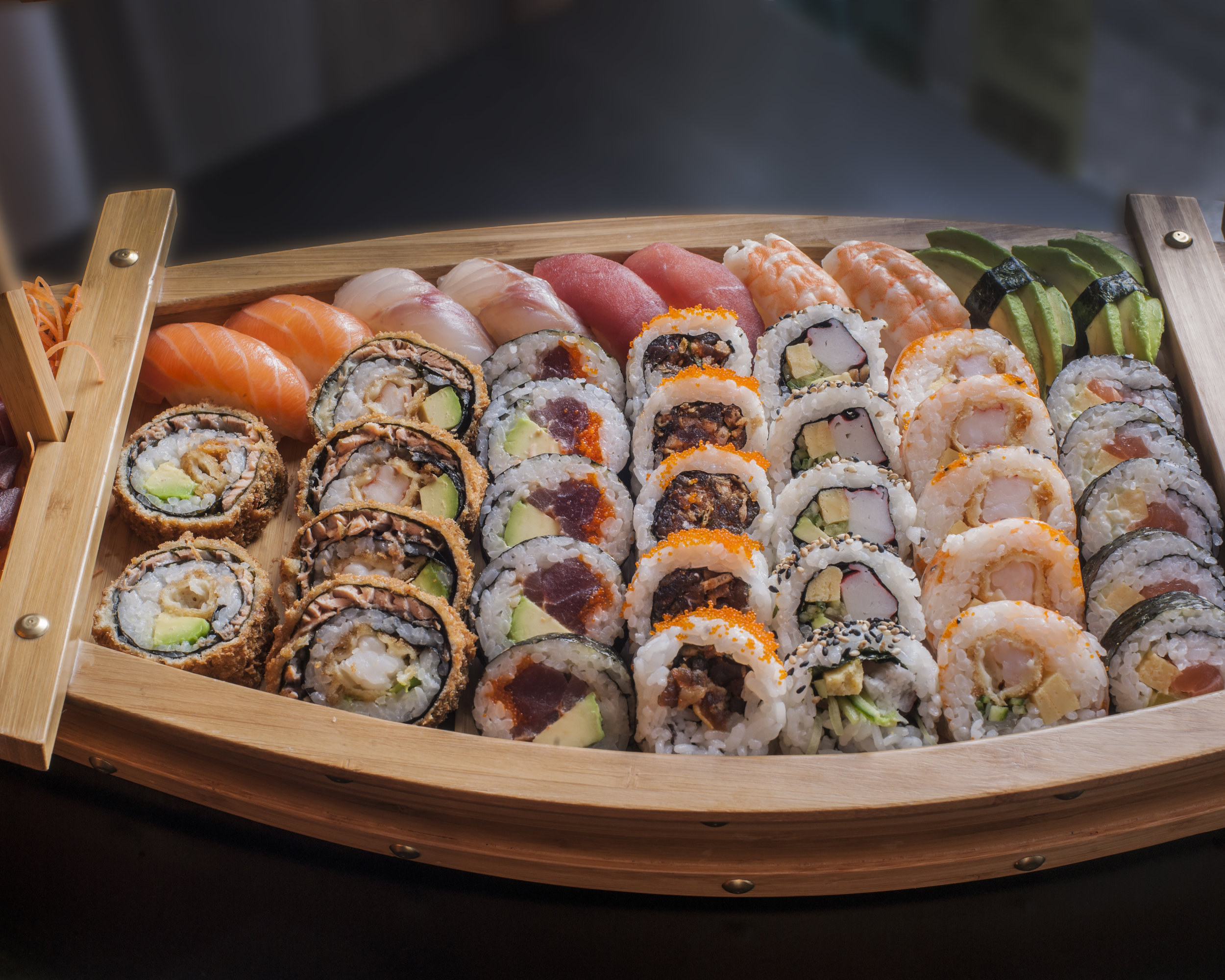 Hara Hachi Bu - Enjoy sushi until you are 80% full