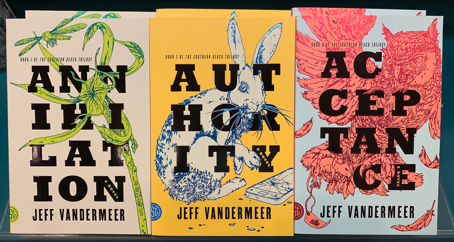 The Southern Trilogy Books by Jeff VanderMeer