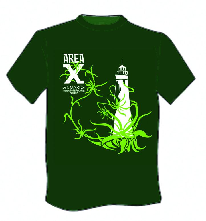 Area X t-shirts