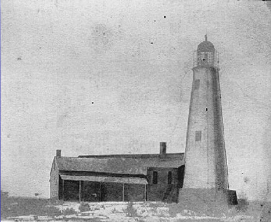 The St. Marks Lighthouse as it appeared in the 1840's