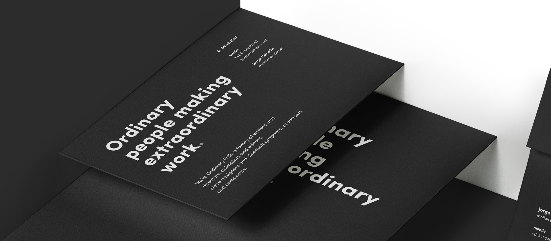 - Ordinary FolkBrand Identity & Web Design