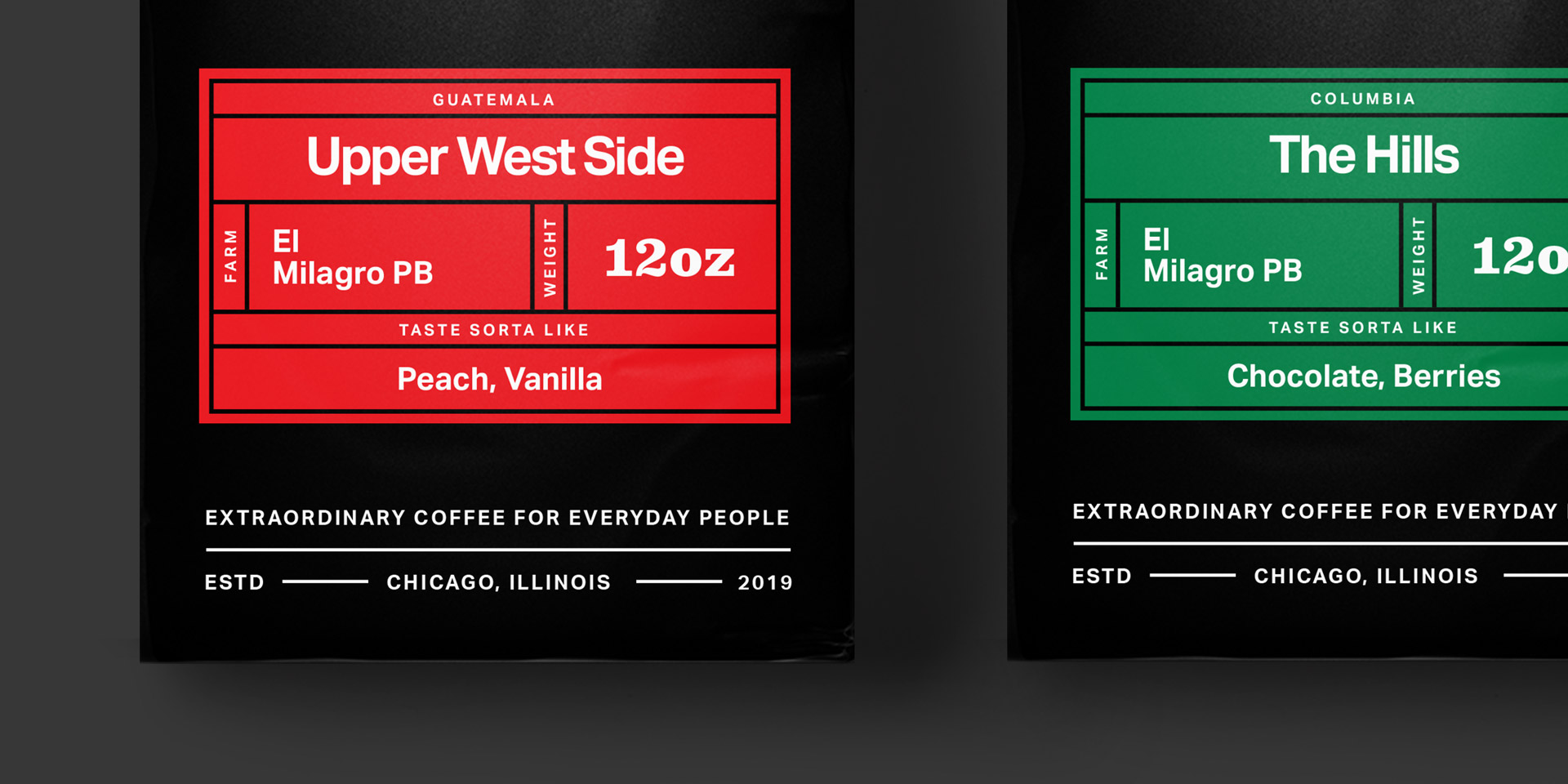 - Pedestrian CoffeeArt Direction, Brand Identity, Web Design & Packaging