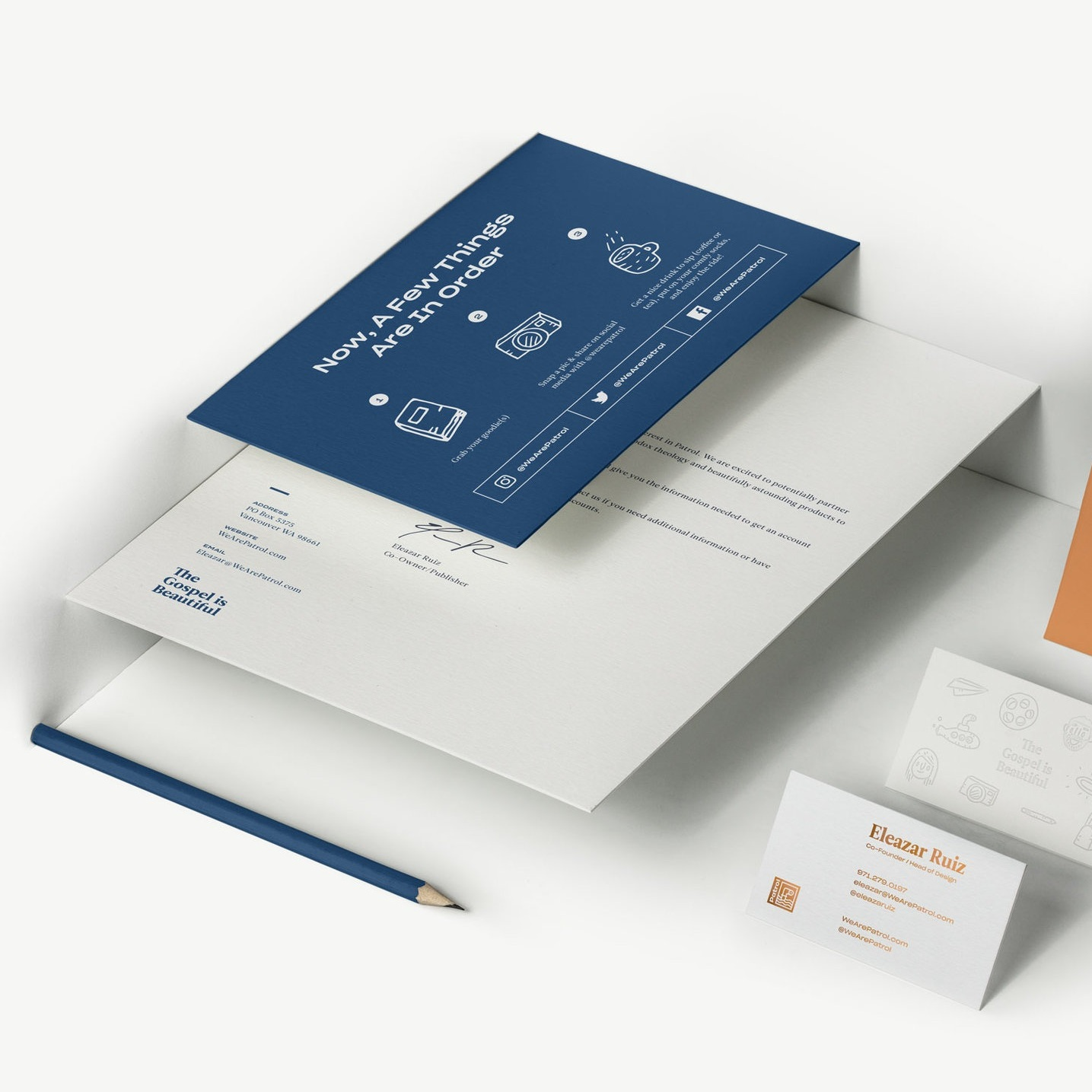 - PatrolArt Direction, Brand Identity, Web Design & Packaging