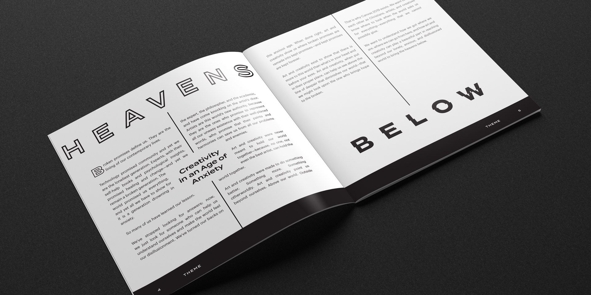 - The Canvas ConferenceCreative Direction, Collateral, Environmental & Web Design