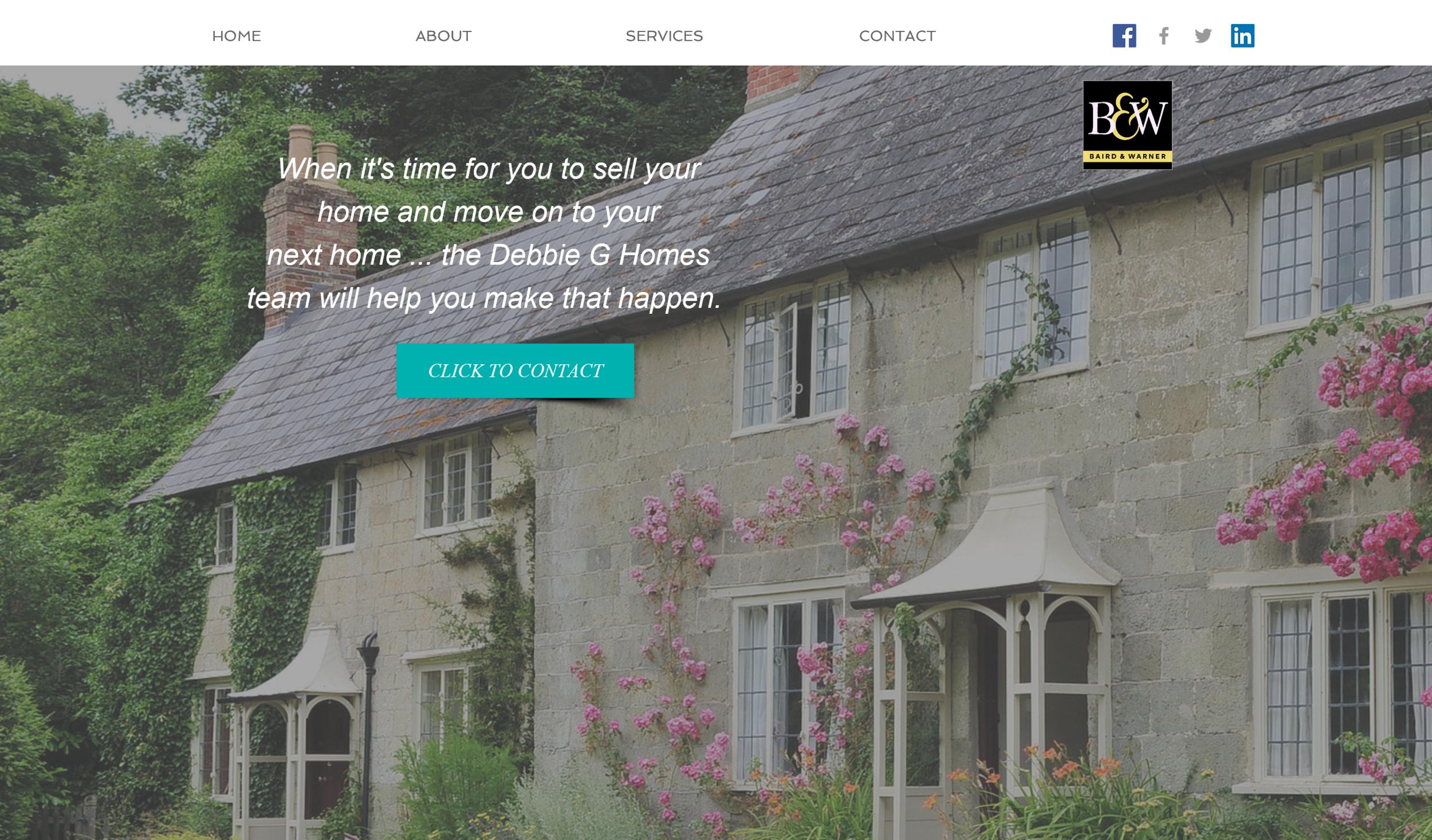 Website design for Chicago real estate agent
