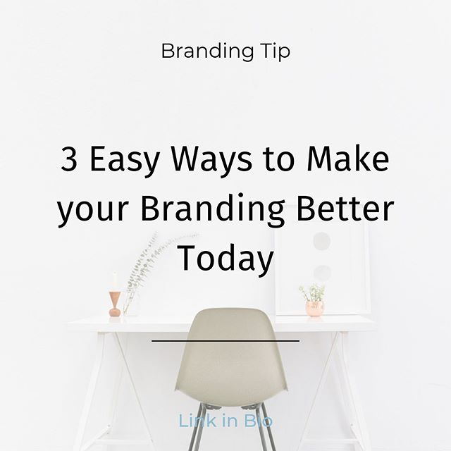 Having trouble with branding for your business? Check out our newest blog that has 3 ways to make your branding better! It really is THAT easy!  Link in our bio! . . . . #paradoxmediagroup #pmg #brandingtip #smallbusinessbranding #socialmediaagency #digitalmarketing #chicagodigitalmarketing #lasocial #socialmediamarketing #losangelesdigitalmarketing #chicagodigitalmarketing #chicagosmallbusiness #smallbusinessowners #smallbusinesssocialmedia #smallbusinessdigitalmarketing #smallbusinessmarketing