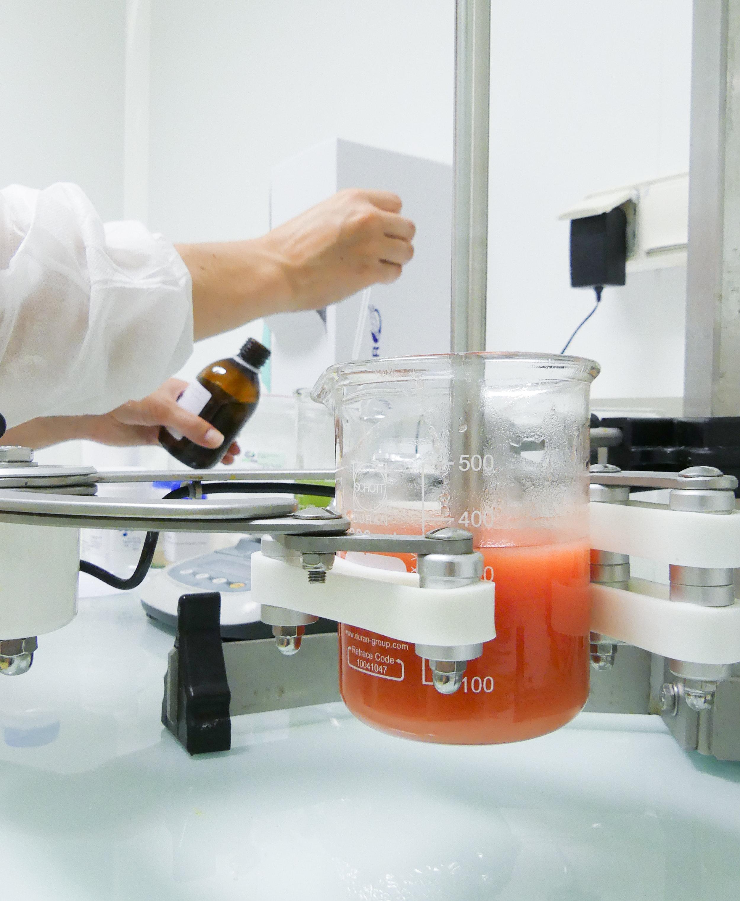 Notre technologie brevetée d'extraction à froid