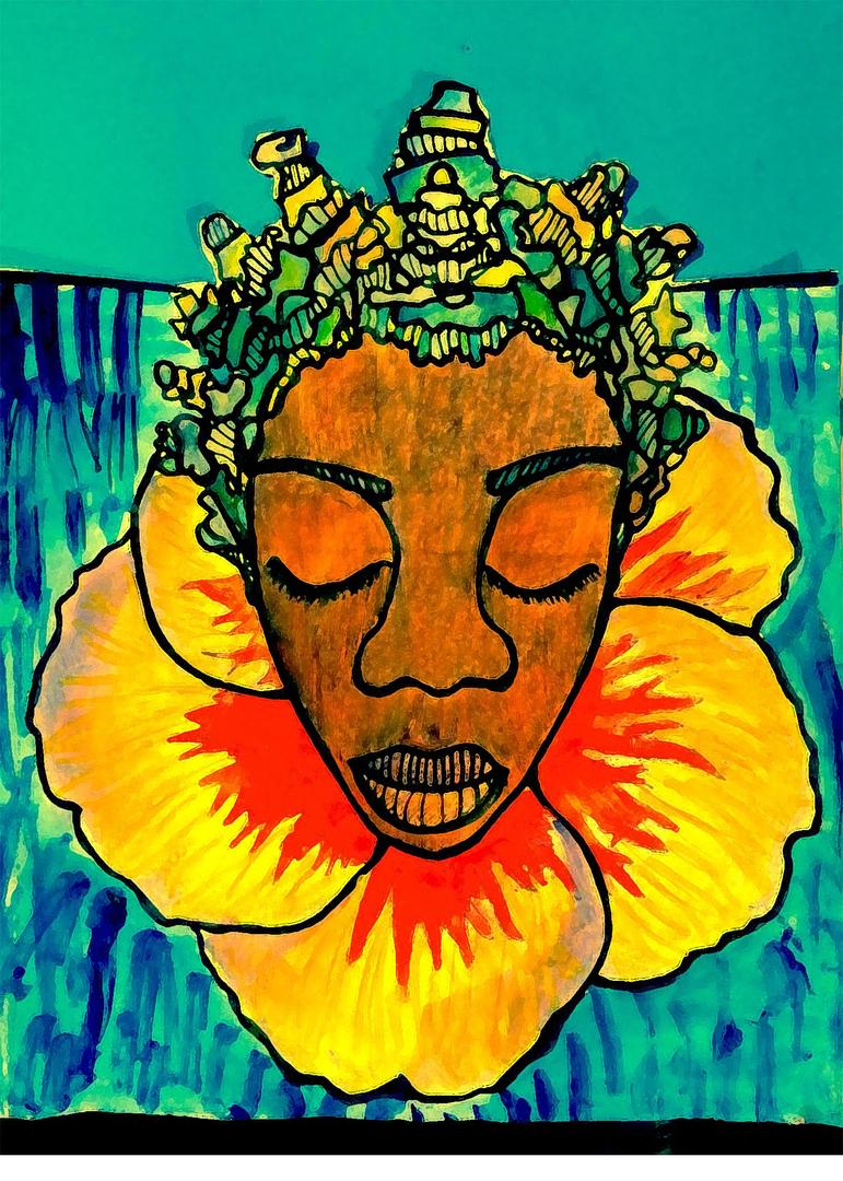 Flower Woman 2017