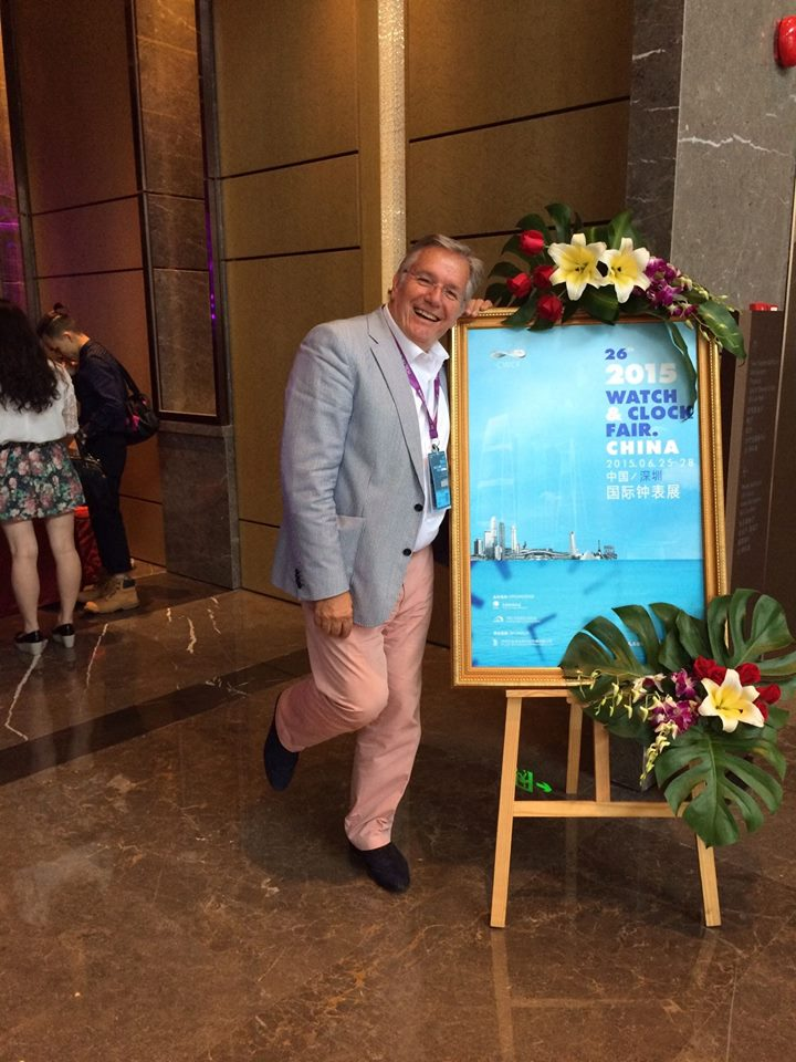 Responsible for the Swiss Pavillon at the Watch & Clock Fair 2015 in Shenzen, China, a big challenge for me