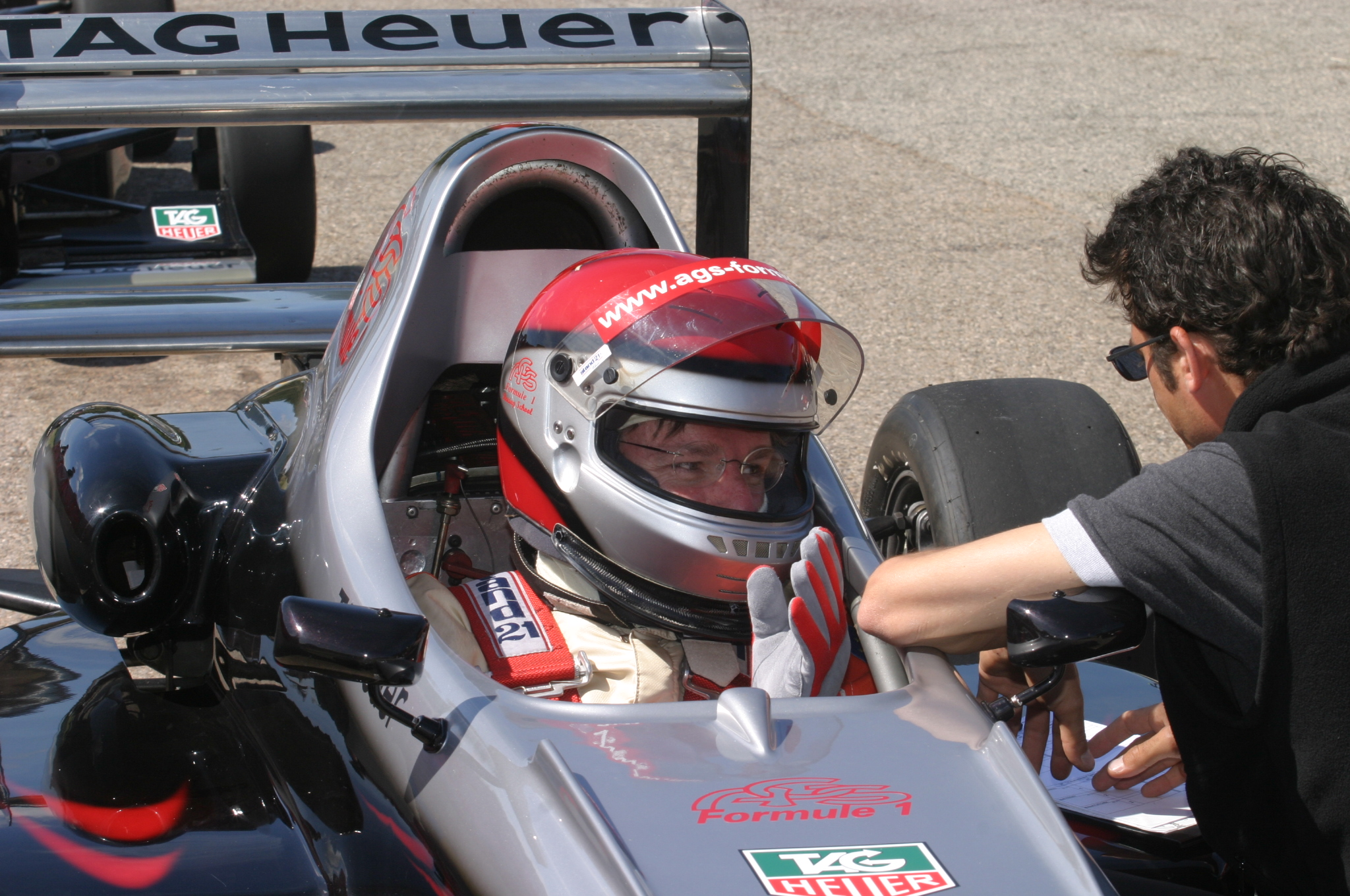 My first experience in Formula 1 driving my own ………