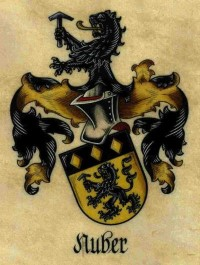 Family coat of arms of the Nuber family since 1251 // Familienwappen der Familie Nuber seit 1251