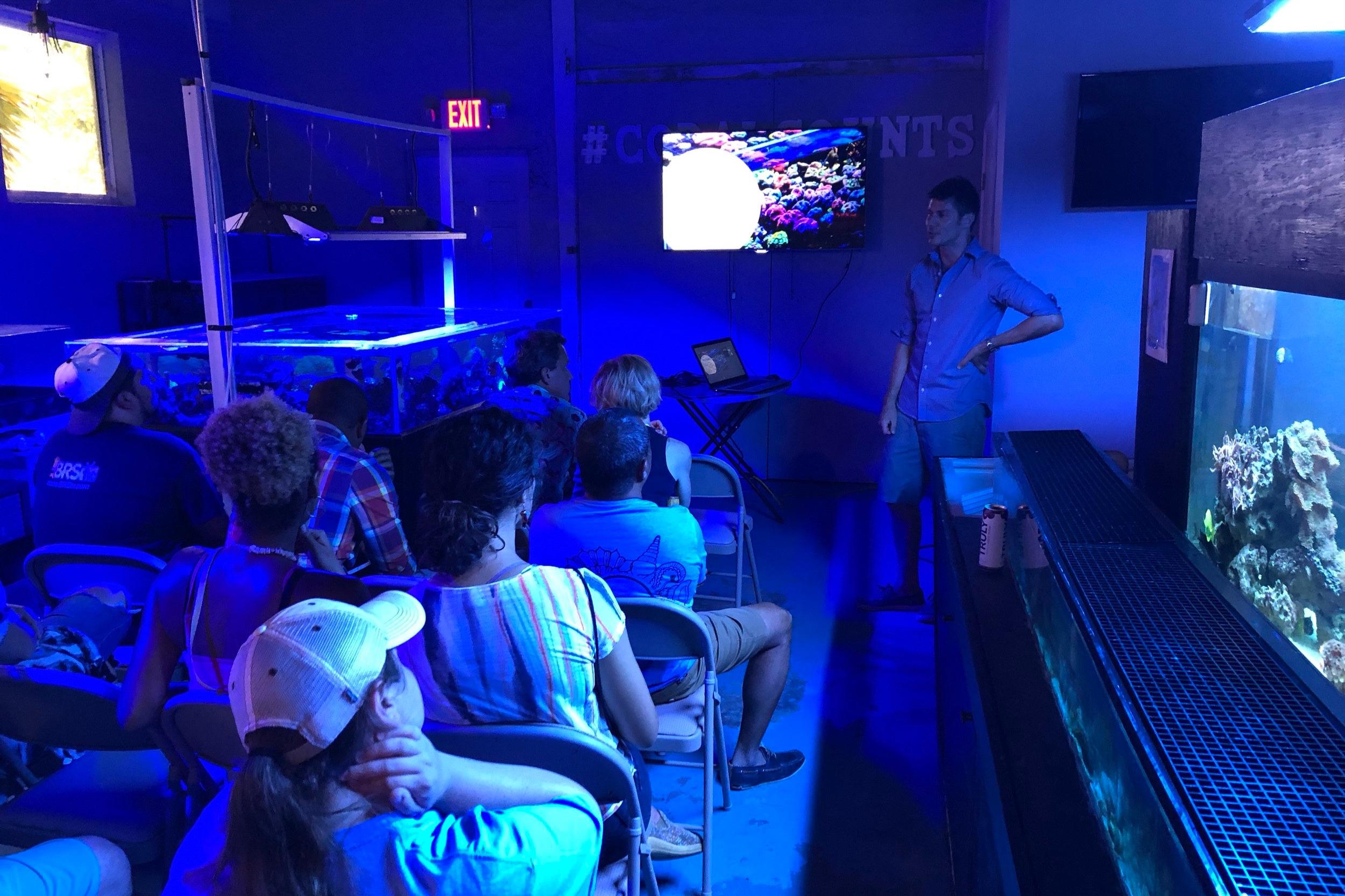 aquarist meeting