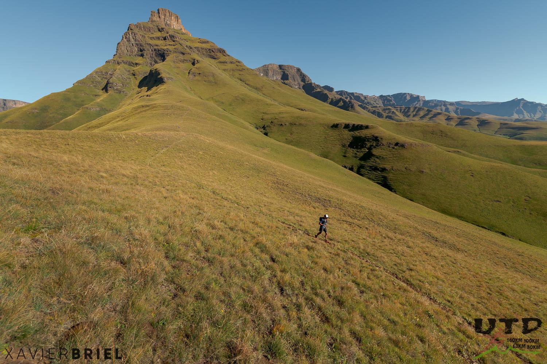 Approaching Khanti Ridge
