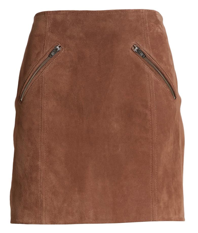 BLANKNYC Suede Miniskirt || $64.90