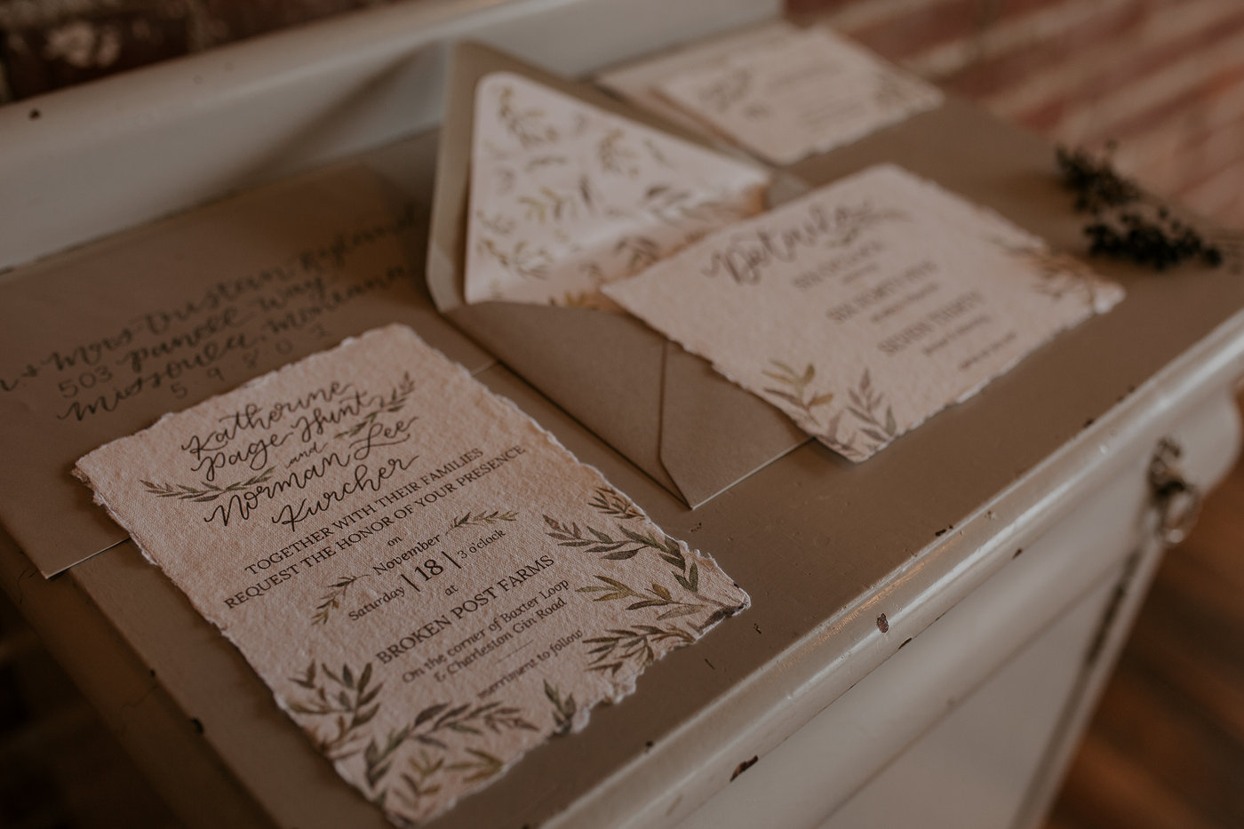 C U S T O M  I N V I T A T I O N S - Your invitations are the very first impression of your wedding to your guests. With custom stationery, we start completely from scratch to encapsulate the essence of your love story - on paper. The sky is the limit, and every detail is curated for you. Let's chat today about how we can create tangible memories of your special day.