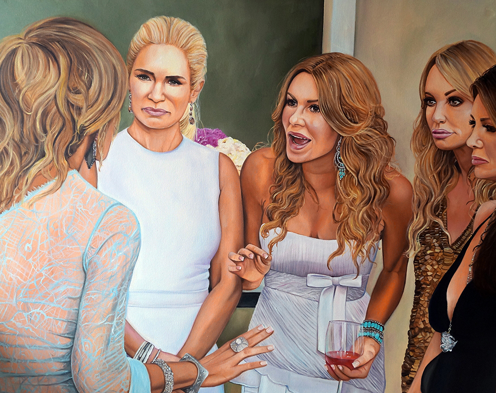 The Real Housewives of Beverly Hills: FAYE, YOLANDA, BRANDI, TAYLOR AND LISA