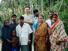 [Trey in Bangladesh - photo by foursoulsthebook.com]