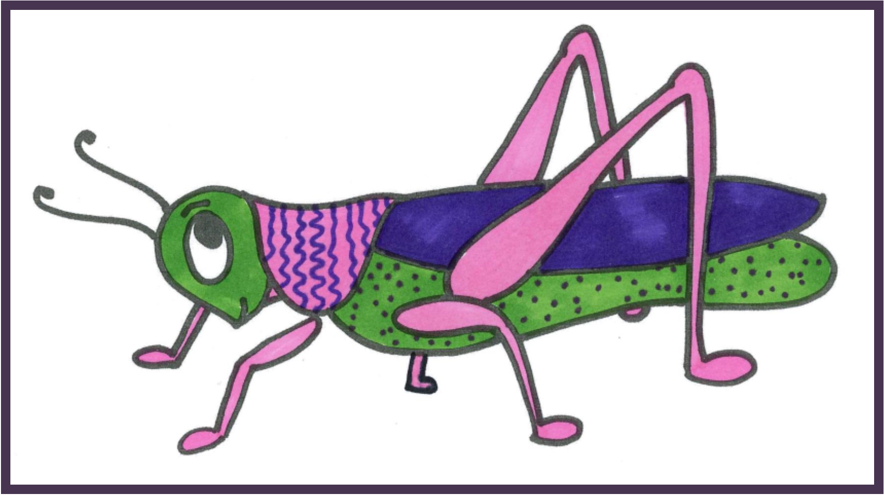 Click here for a printable copy of the Grasshopper Story.